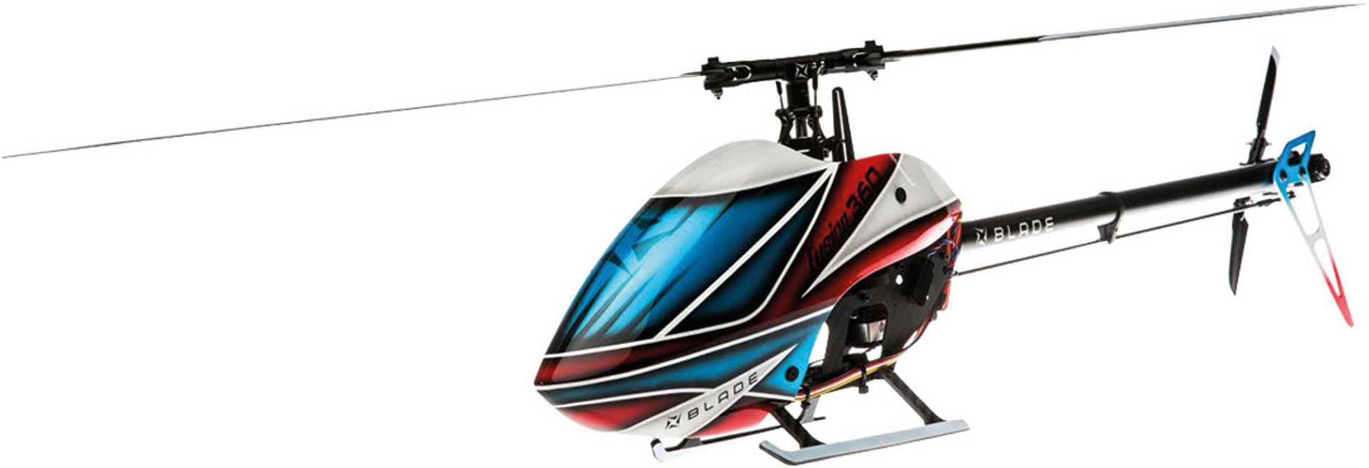 BLADE FUSION 360 BNF BASIC FLYBARLESS HELI Hubschrauber / Helikopter