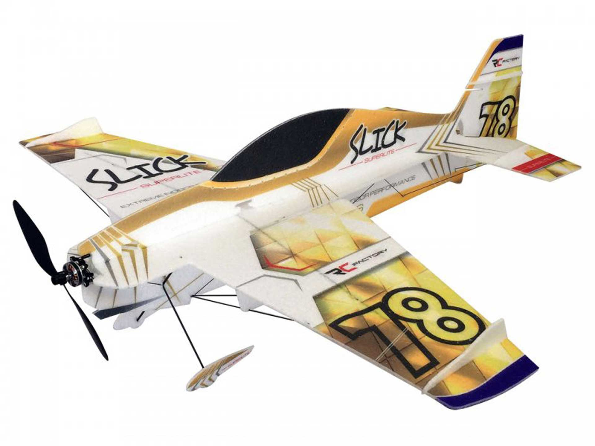 PICHLER SLICK SUPERLITE GOLD COMBO EPP WITH THRUST VECTOR CONTROL, DRIVE AND SERVOS