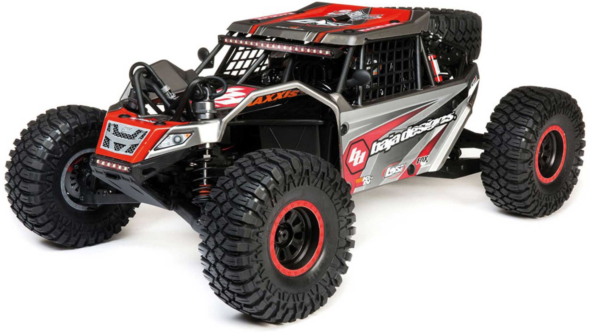 LOSI SUPER ROCK REY® AVC® 1/6 4WD RTR AVC R/G ROCKRACER-BAJADESIGNS