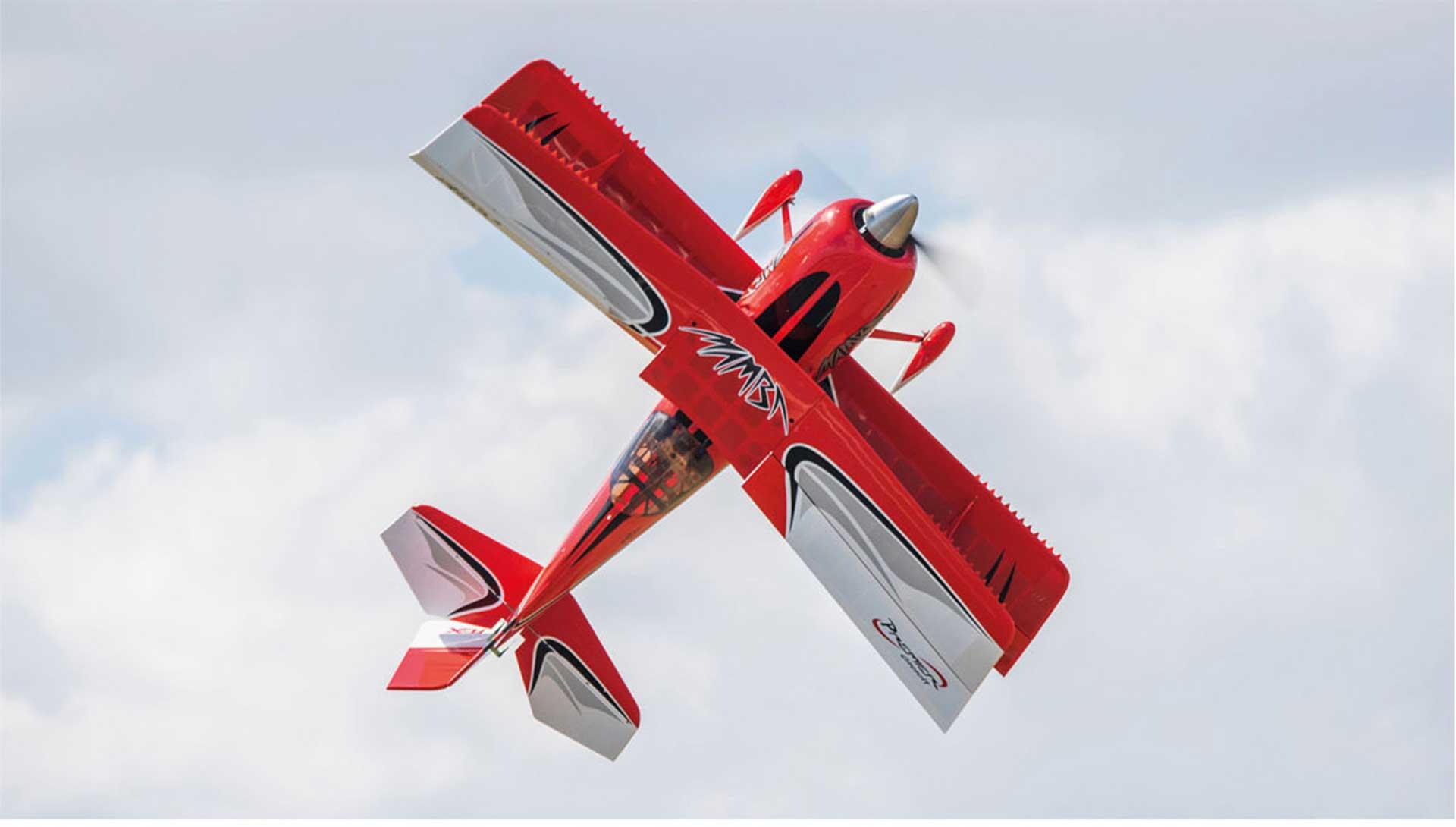 PREMIER AIRCRAFT MAMBA 70CC ARF DOPPELDECKER ROT