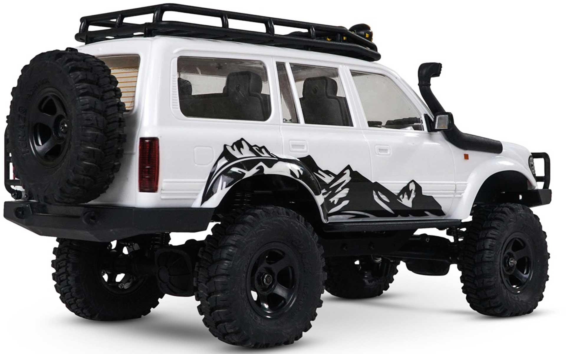 EAZY RC PATRIOT 1/18 4WD - Crawler RTR 2.4GHz inklusive 2 Akkus