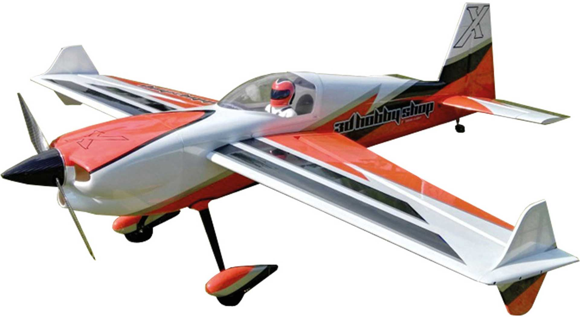 "3D HOBBY SHOP EDGE 540 92"" ORANGE/WEISS ARF"