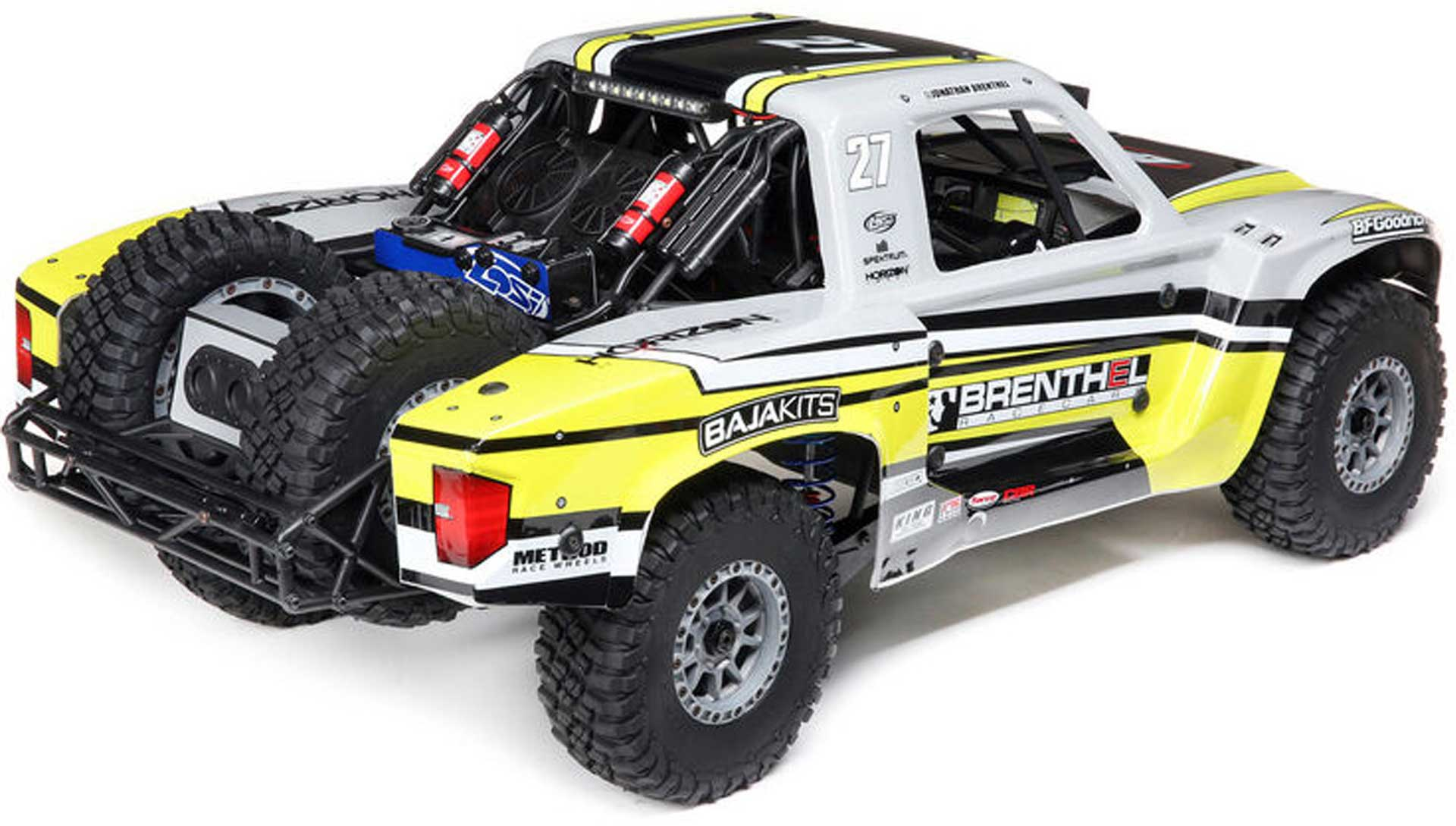 LOSI Super Baja Rey 2.0 1/6 4WD Desert Truck Brenthel