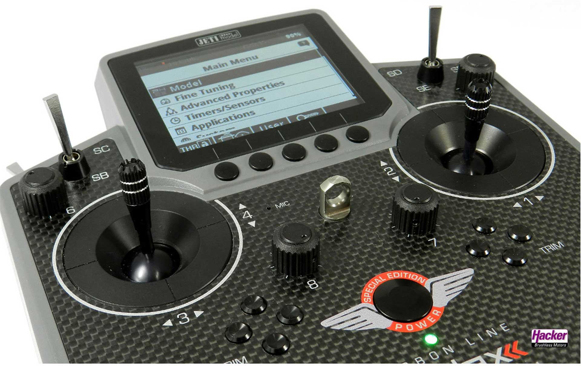 JETI DS-12 SPECIAL EDITION CARBON GRAY MULTIMODE