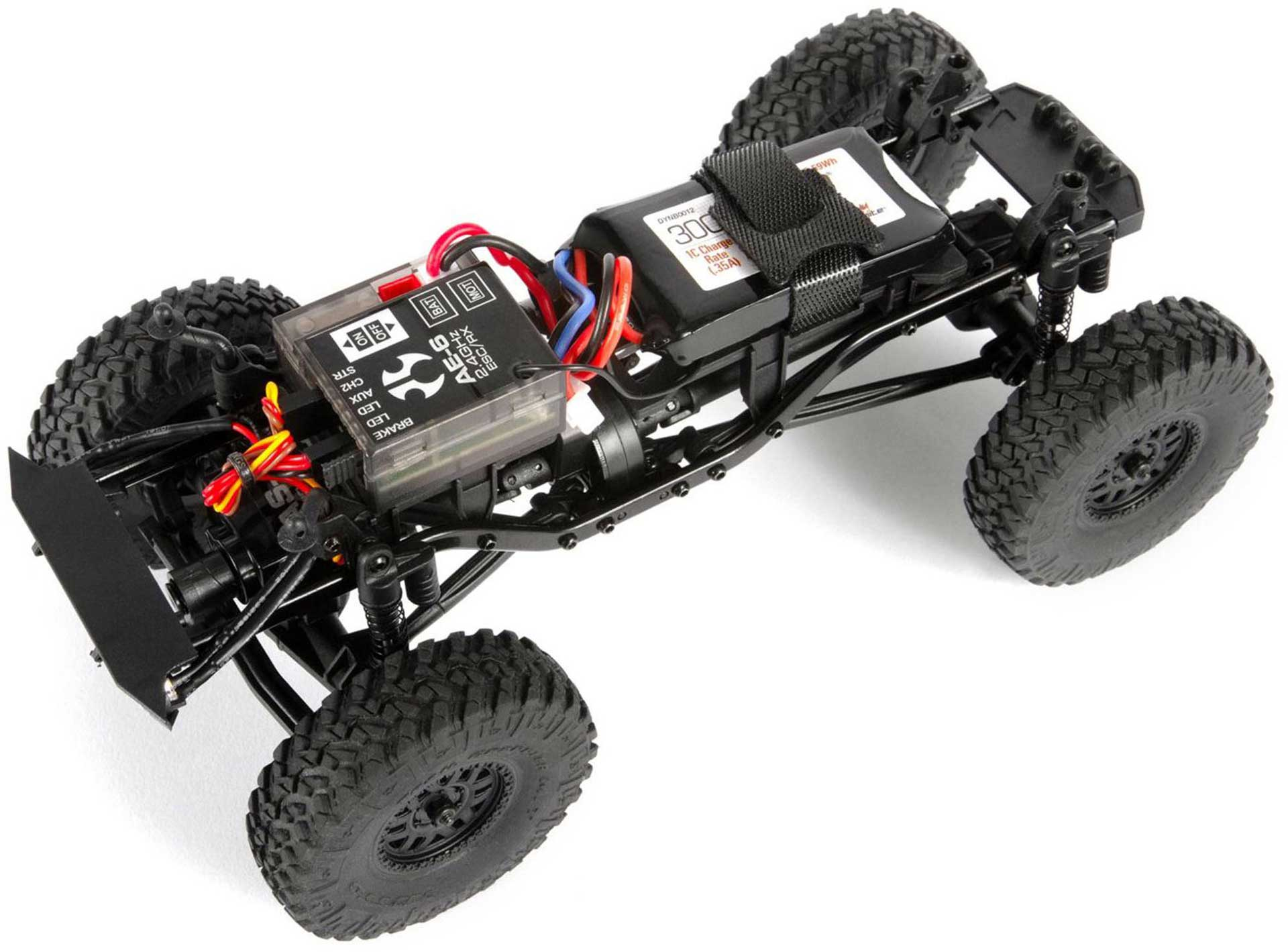 AXIAL SCX24 Deadbolt 1/24 Scale 4WD Rot RTR