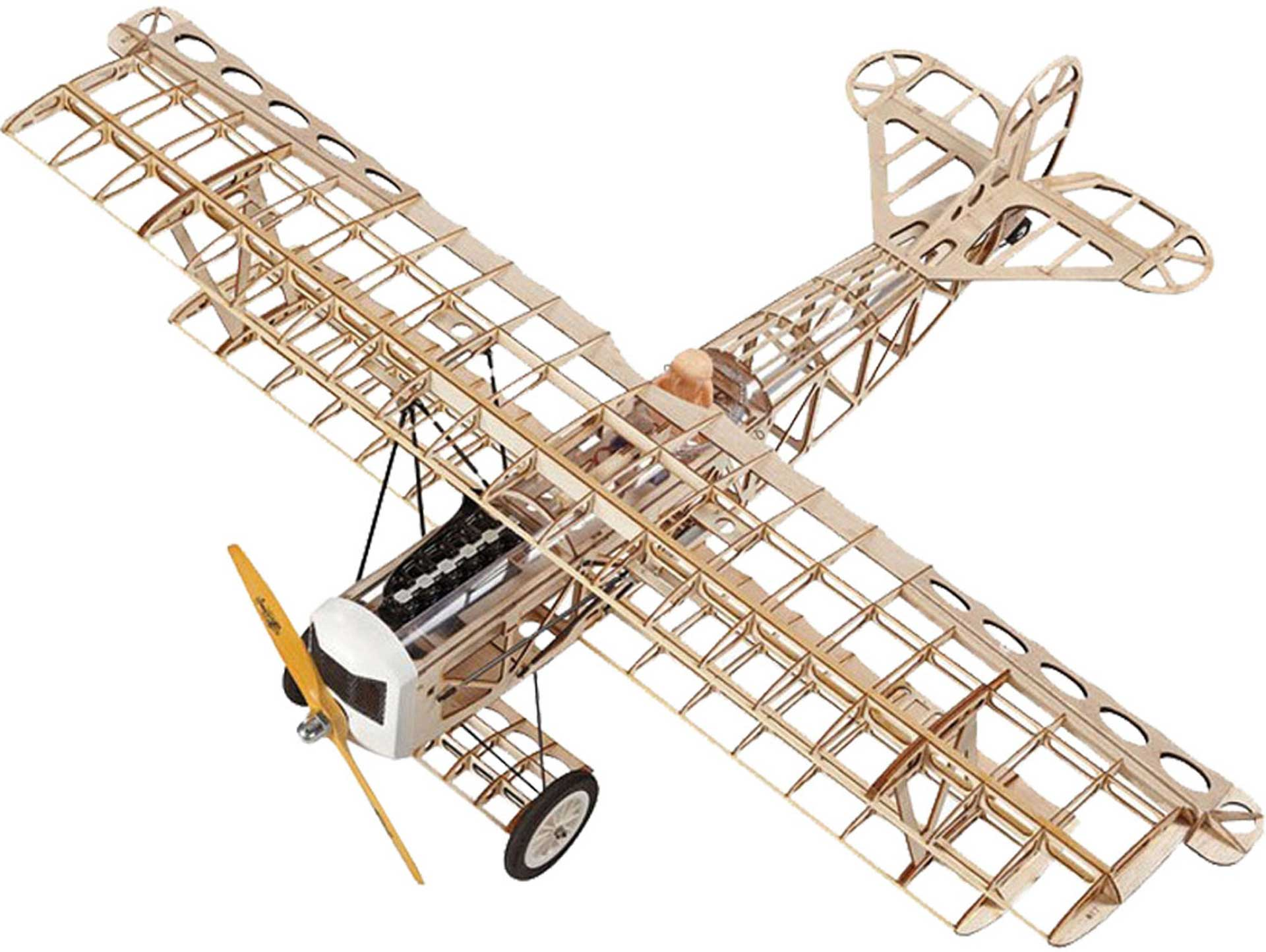 SUPER FLYING MODEL FOKKER DVII EP KIT BIPLANE