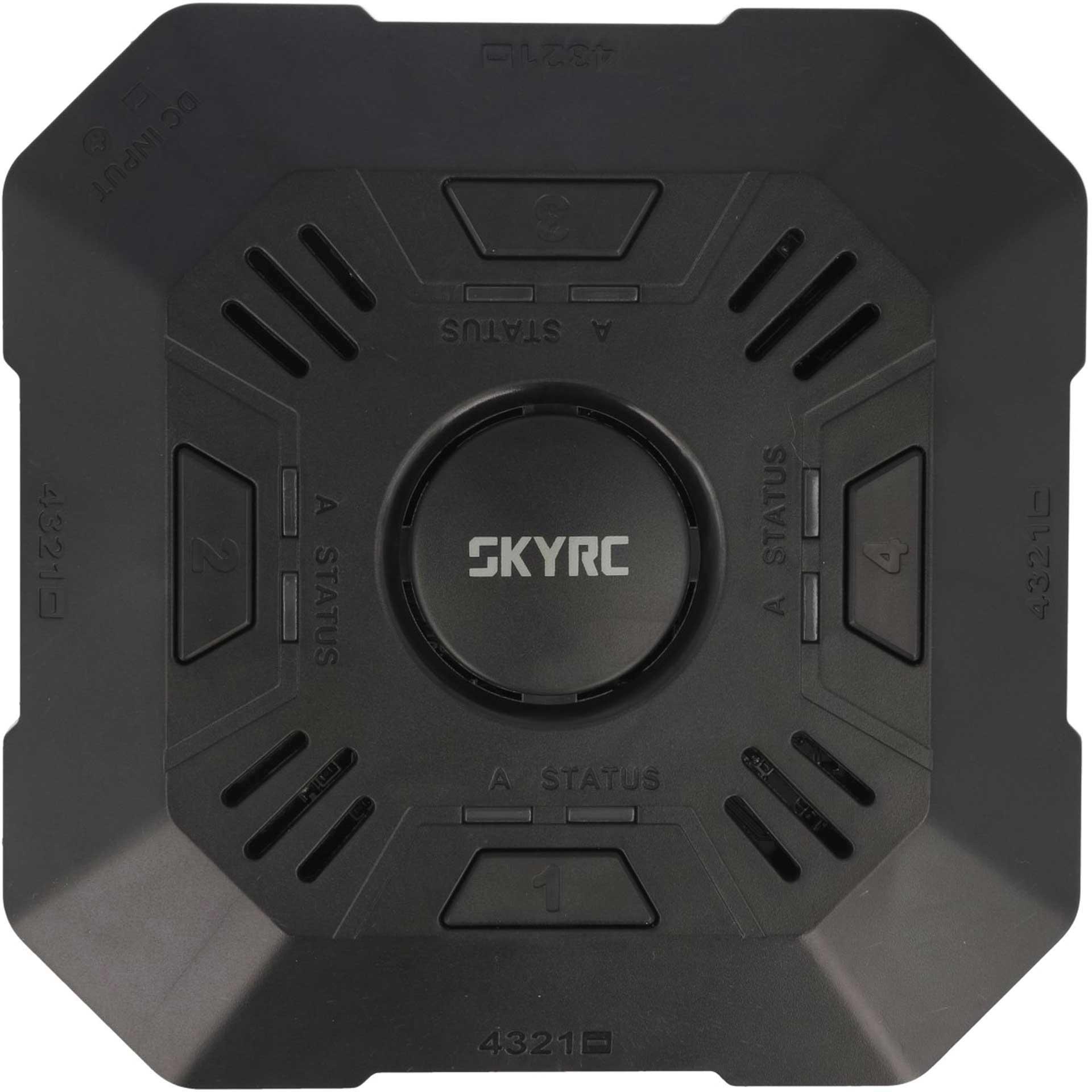 SKYRC e4Q LiPo 2-4s 2A 4 Kanal Quattro