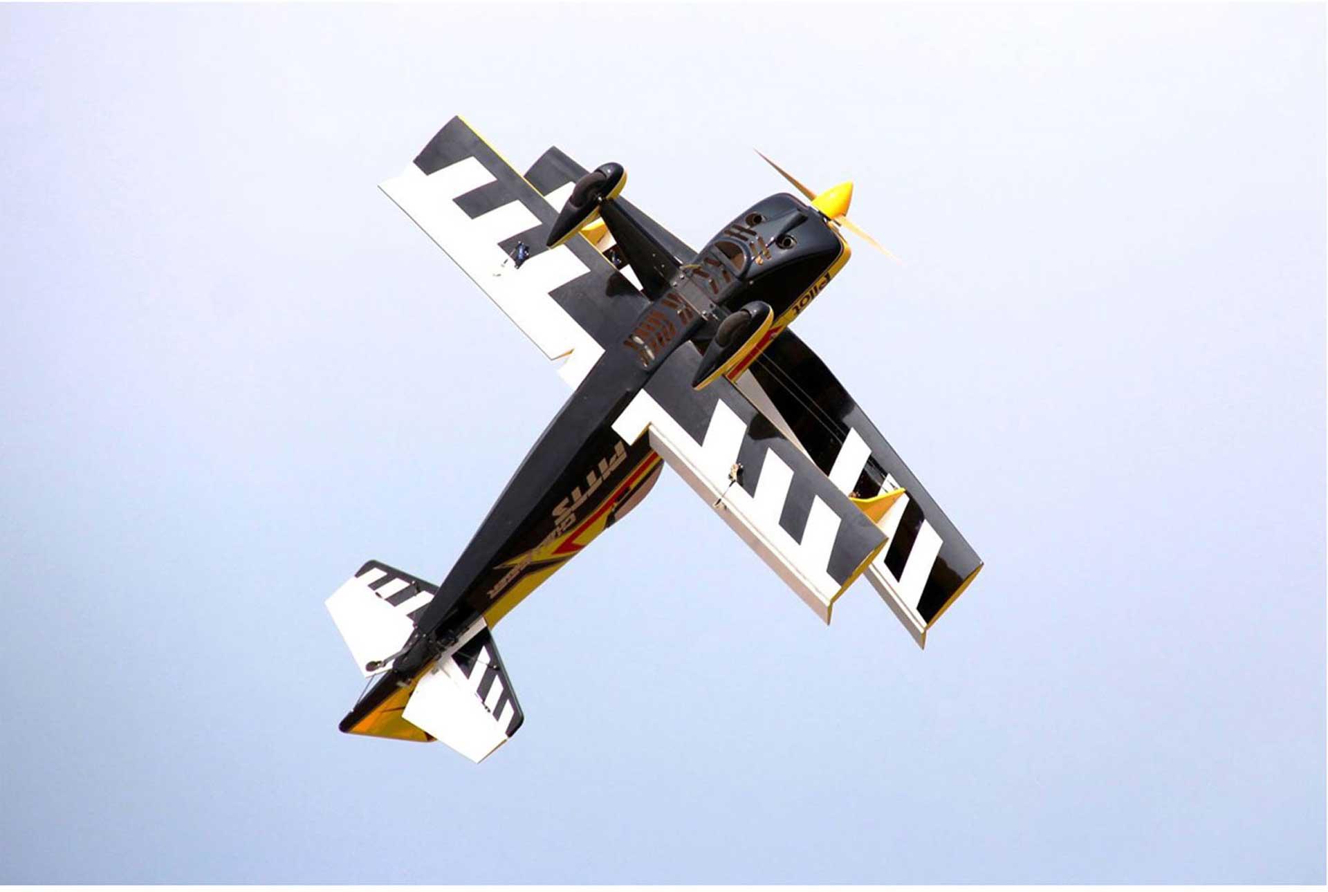 """PILOT-RC PITTS CHALLENGER 87"""" 2,2M #02 COLOR SCHEME"""