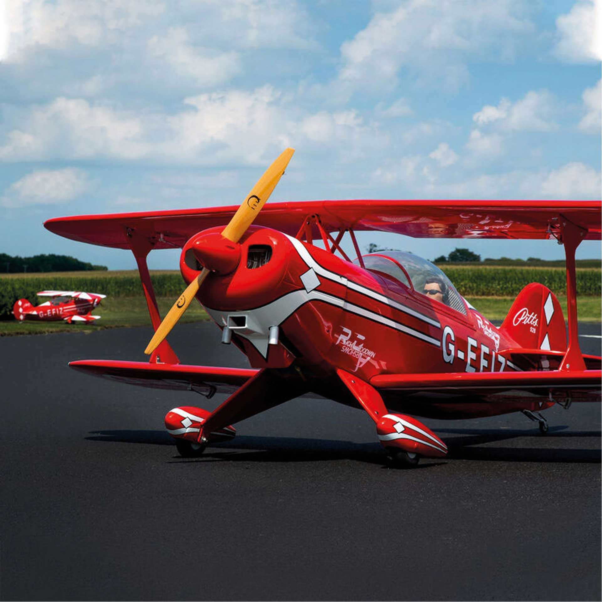 HANGAR 9 PITTS S-2B 50-60CC