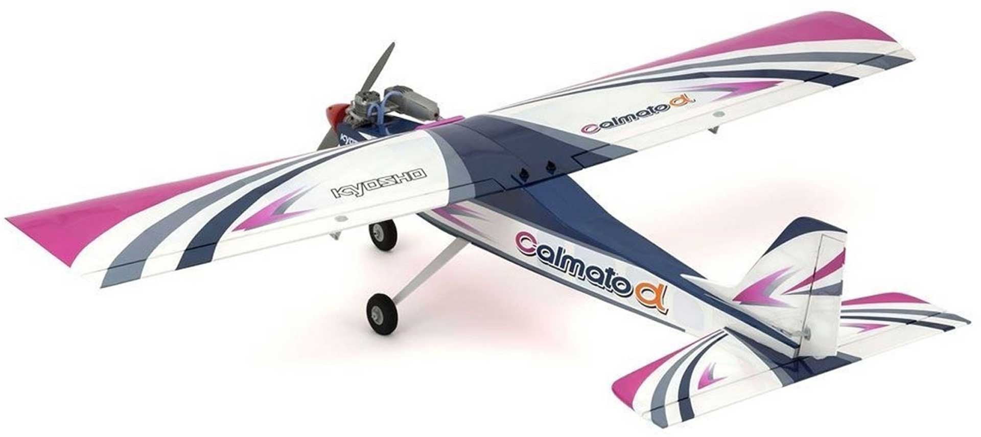KYOSHO CALMATO ALPHA 40 TRAINER TOUGHLON EP/GP PINK