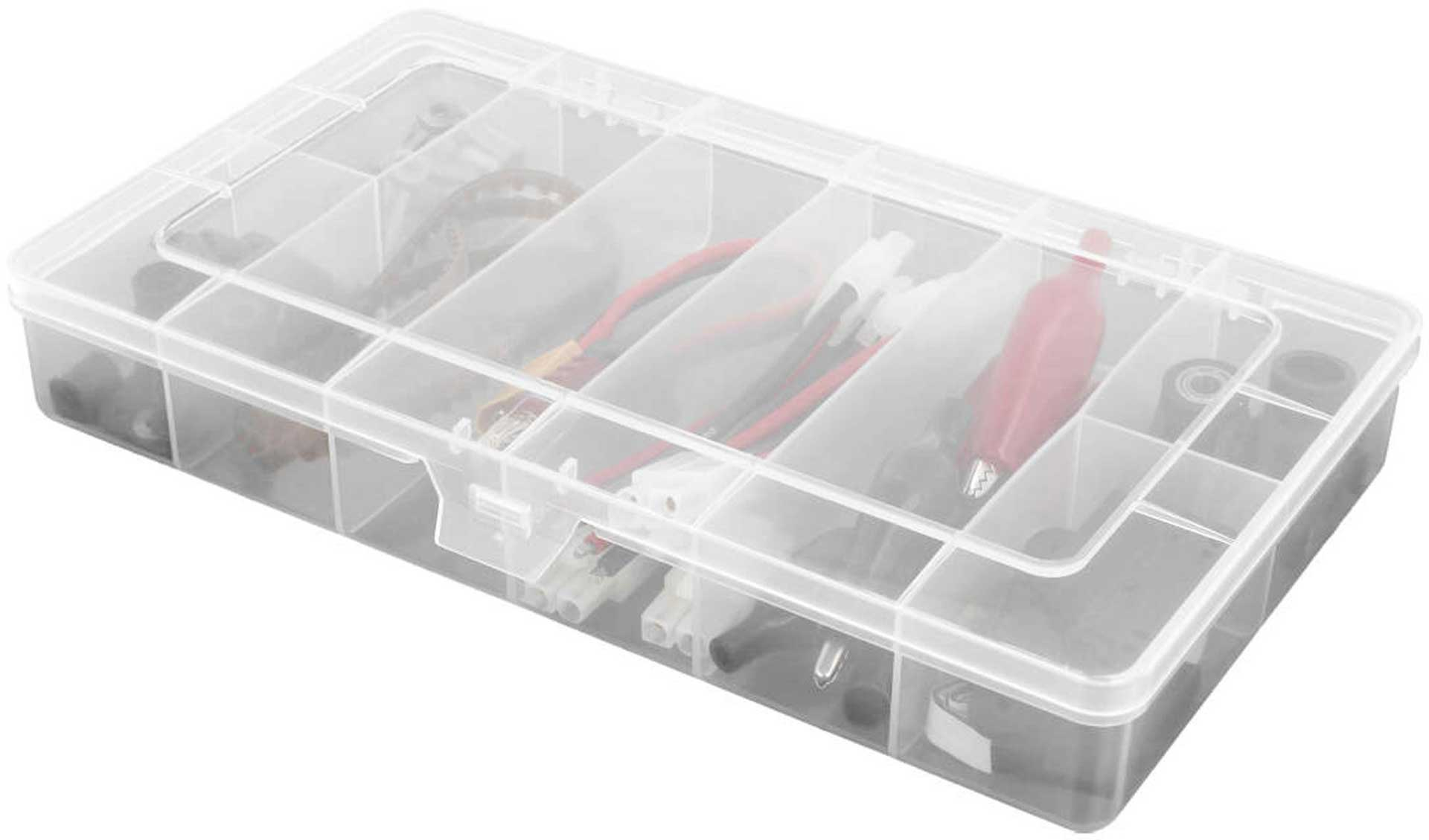 ROBITRONIC SORTING BOX 8 COMPARTMENTS FIXED 208X119X33MM