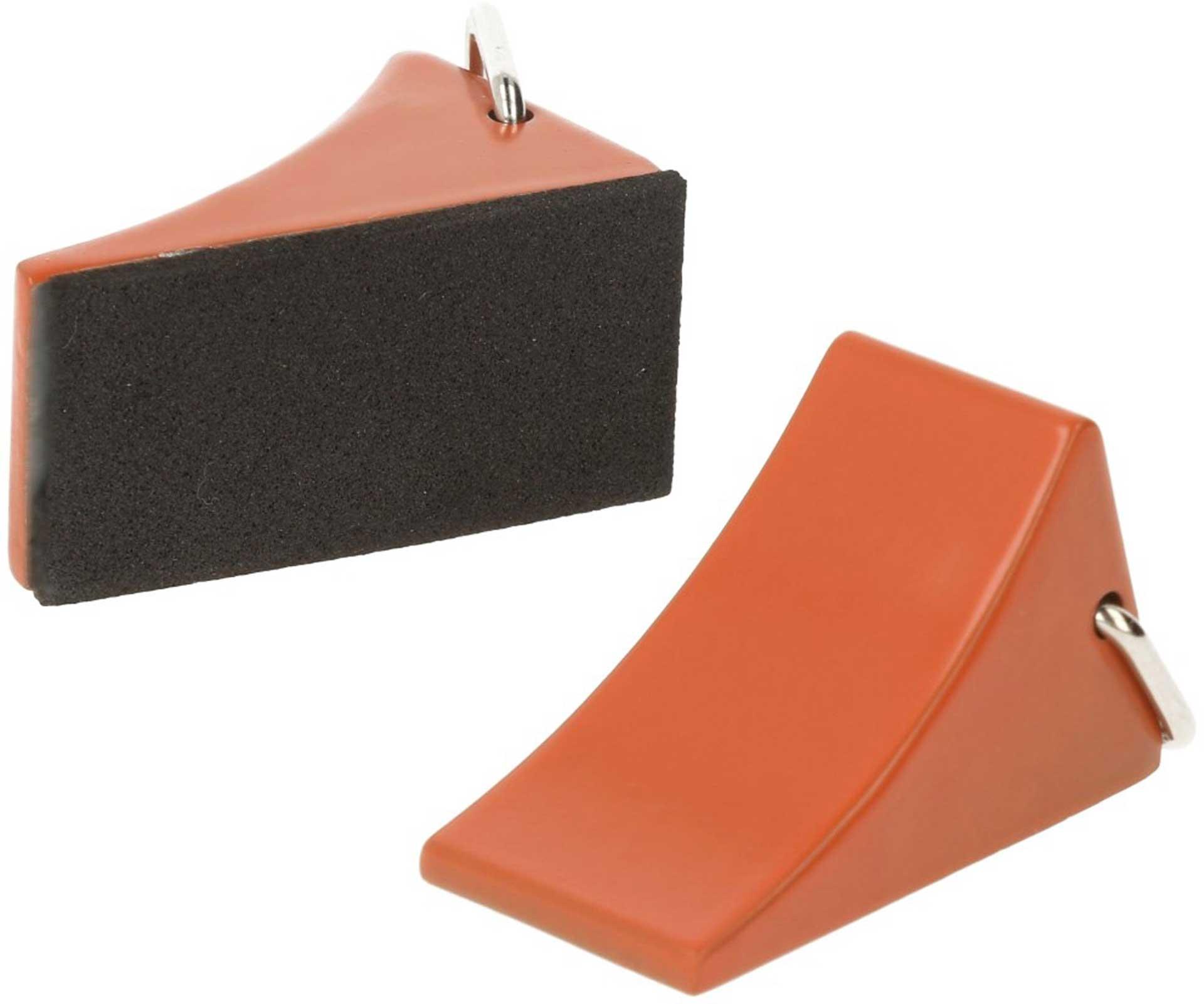 ROBITRONIC Chocks Fuse Orange (2 pcs.) Drag Shoes Cast Iron