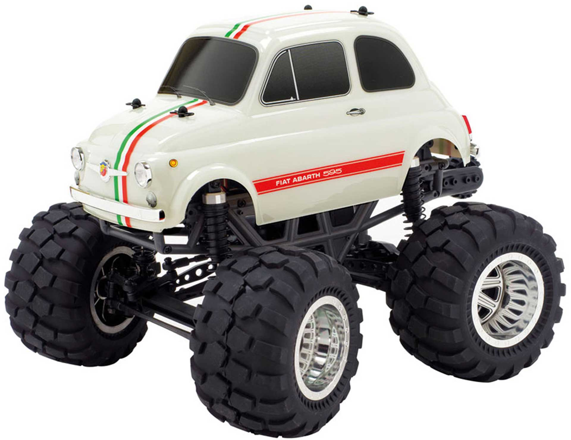 CEN FIAT ABARTH 595 MONSTER TRUCK 2WD 1/12 RTR EP