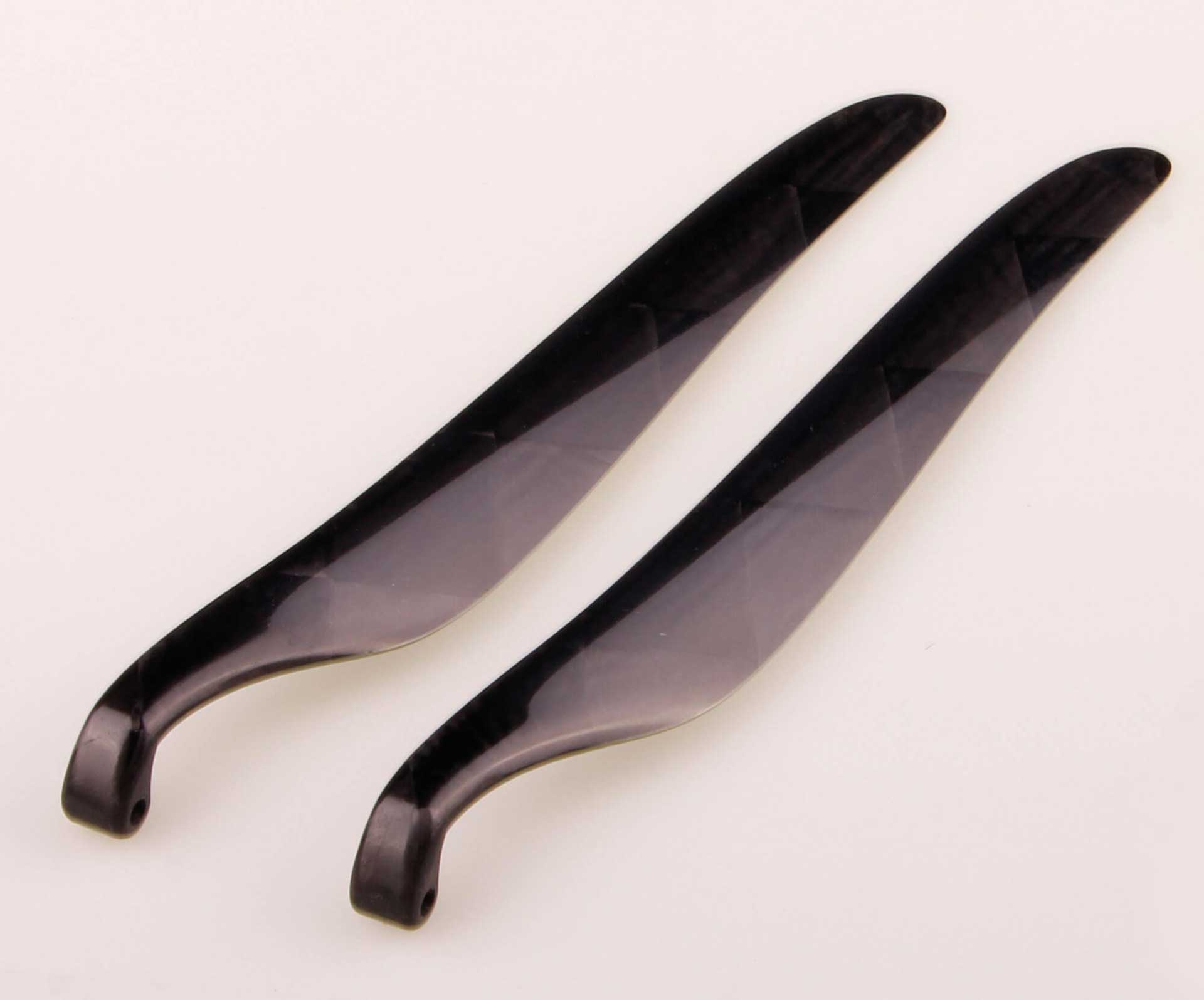 GM Propellers Folding propeller  F5J 12x10 Competition Carbon black 1 pair