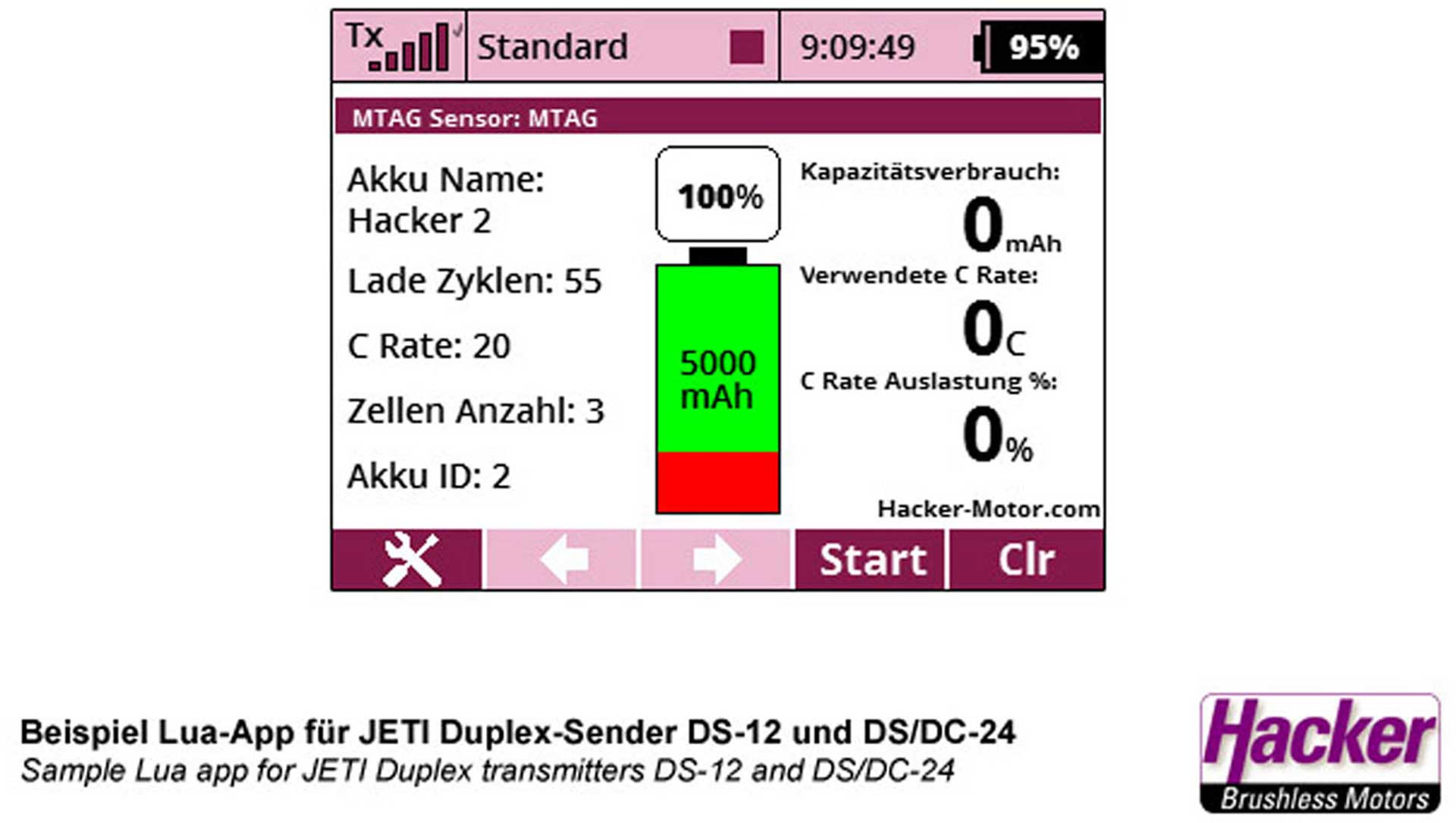 JETI DUPLEX 2.4EX TOPFUEL MTAG BATTERY SENSOR