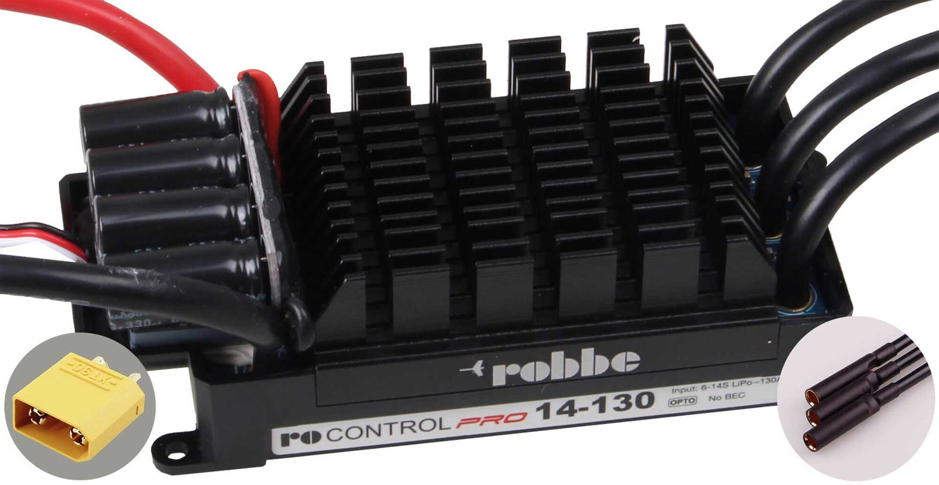 ROBBE RO-CONTROL PRO 14-130 6-14S -130(160)A OPTO