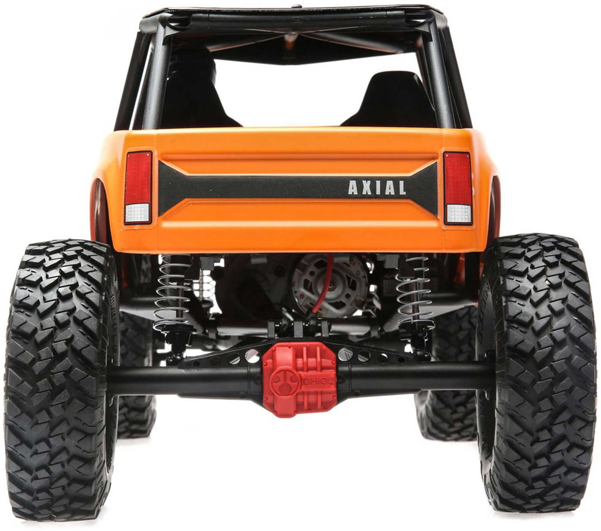 AXIAL WRAITH 1.9 4WD BRUSHED RTR, ORANGE 1/10 CRAWLER