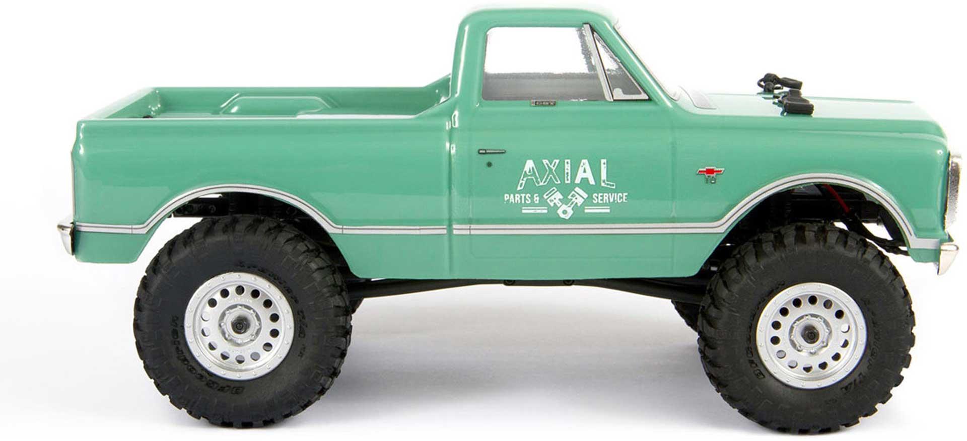 AXIAL SCX24 1967 Chevrolet C10 1/24 4WD RTR Grün