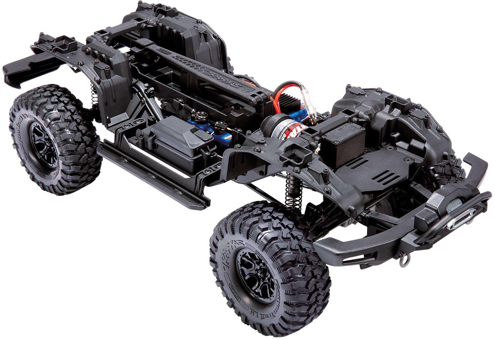 TRAXXAS TRX-4 2021 FORD BRONCO ORANGE RTR O. AKKU/LADER 1/10 4WD SCALE CRAWLER BRUSHED