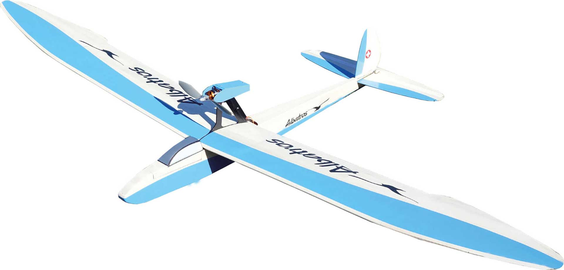 AEROBEL ALBATROS WOODEN KIT 2M