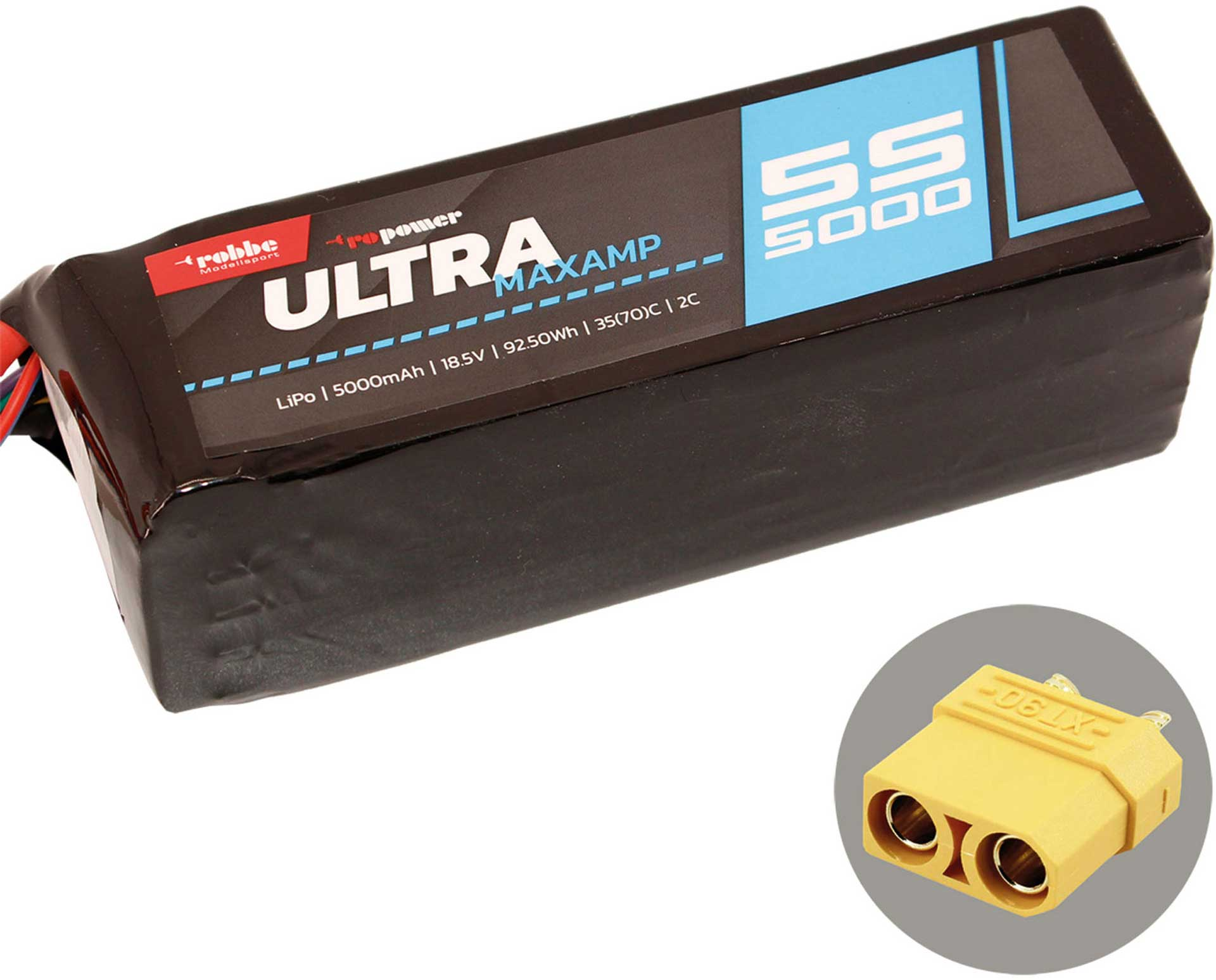 ROBBE RO-POWER ULTRA MAXAMP 5000MAH 18,5 VOLT