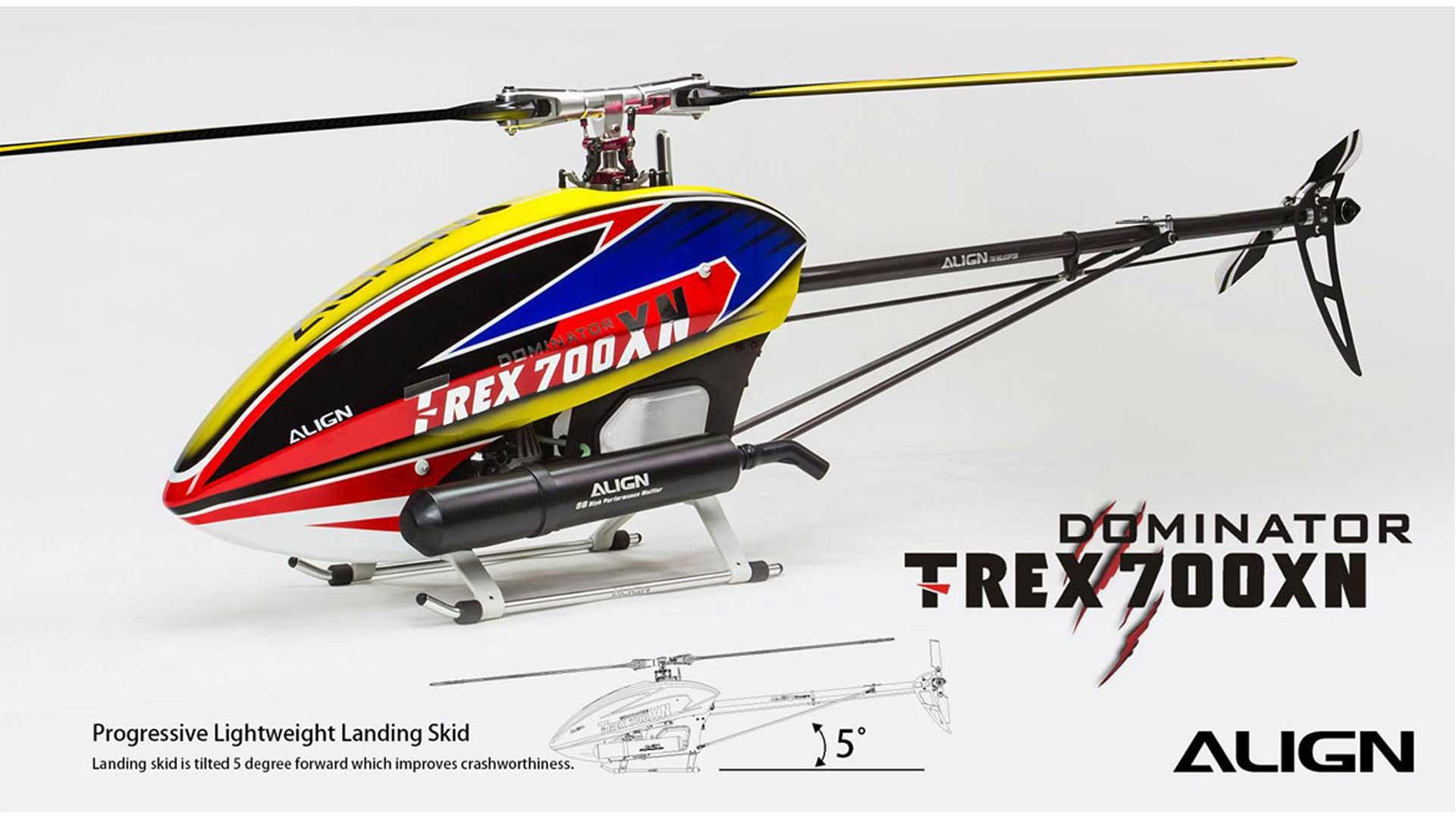 ALIGN T-REX 700XN DOMINATOR COMBO Hubschrauber / Helikopter