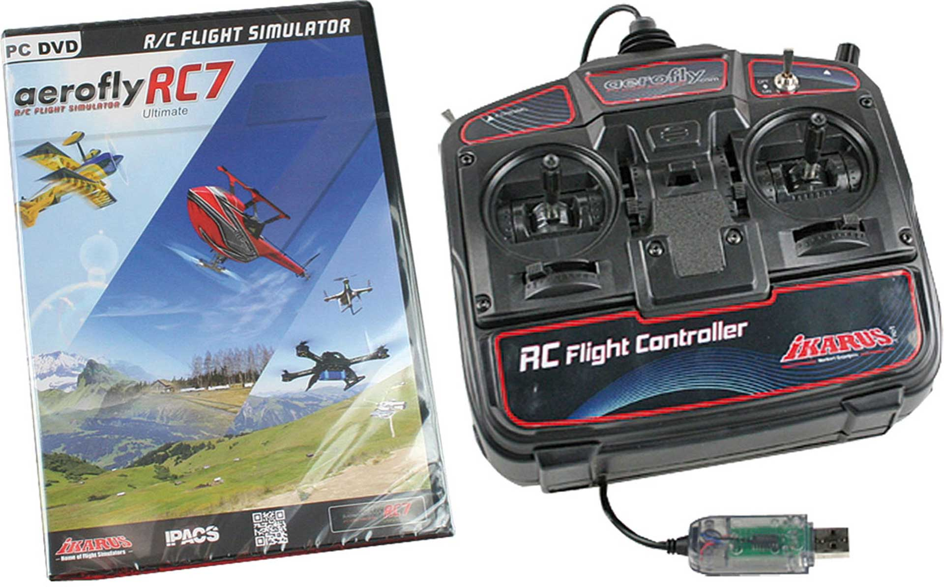 IKARUS AEROFLY RC7 ULTIMATE MIT USB-COMMANDER