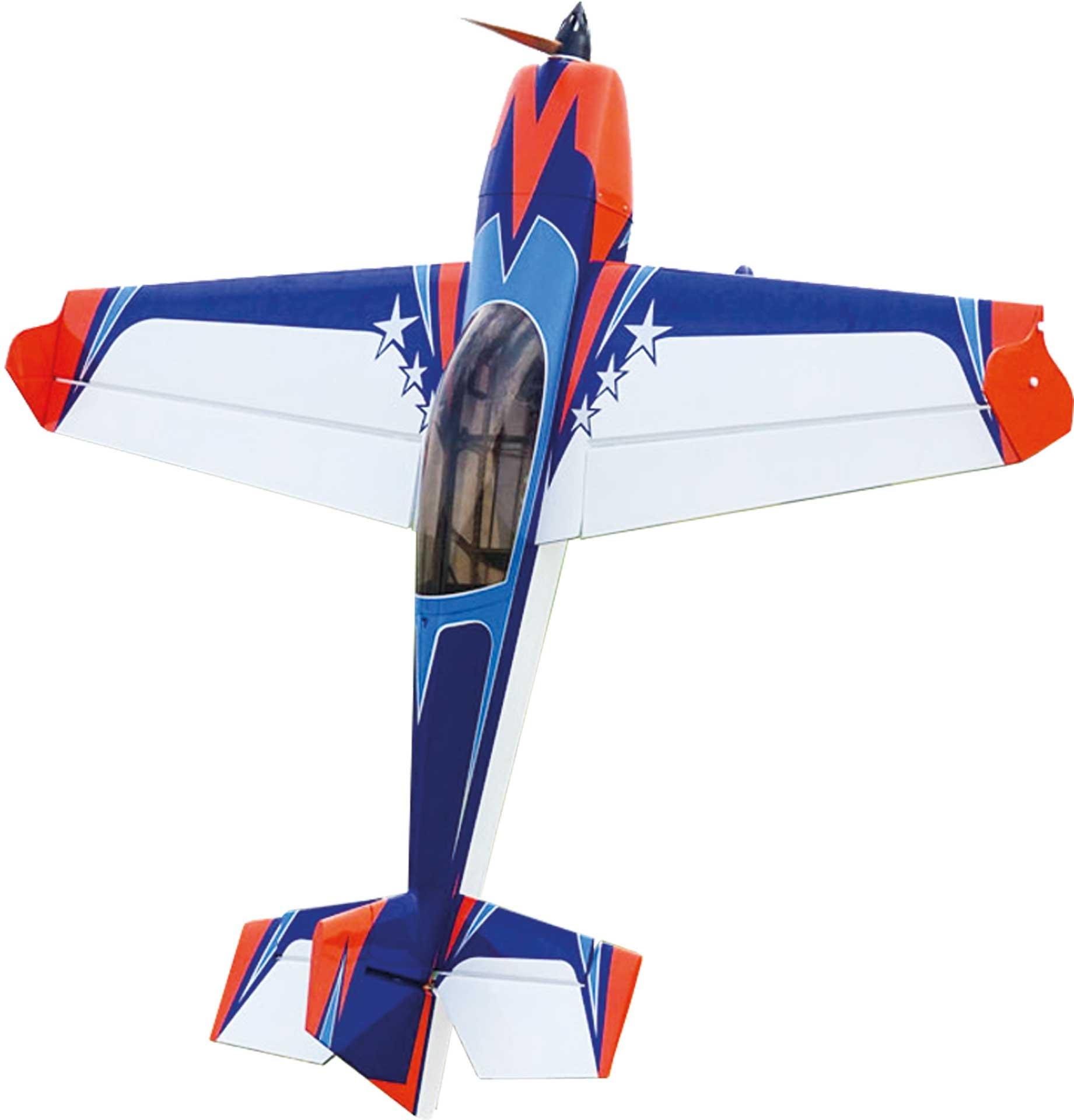 "EXTREMEFLIGHT-RC EXTRA 300 60"" EXP V2 Plus EXP orange/ blau ARF"