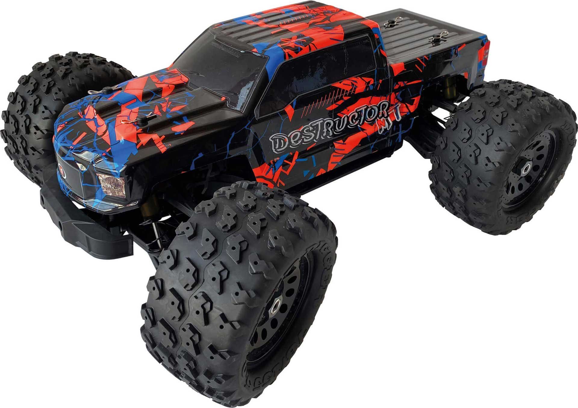 DRIVE & FLY MODELS Destructor MT 1/8 Truck Brushless RTR 4WD EP