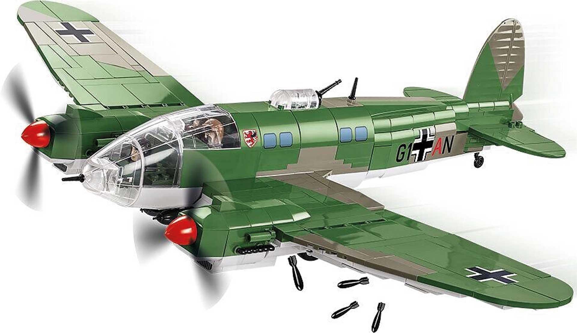 COBI Heinkel He 111 P-2 (675 Teile) Klemmbausteine