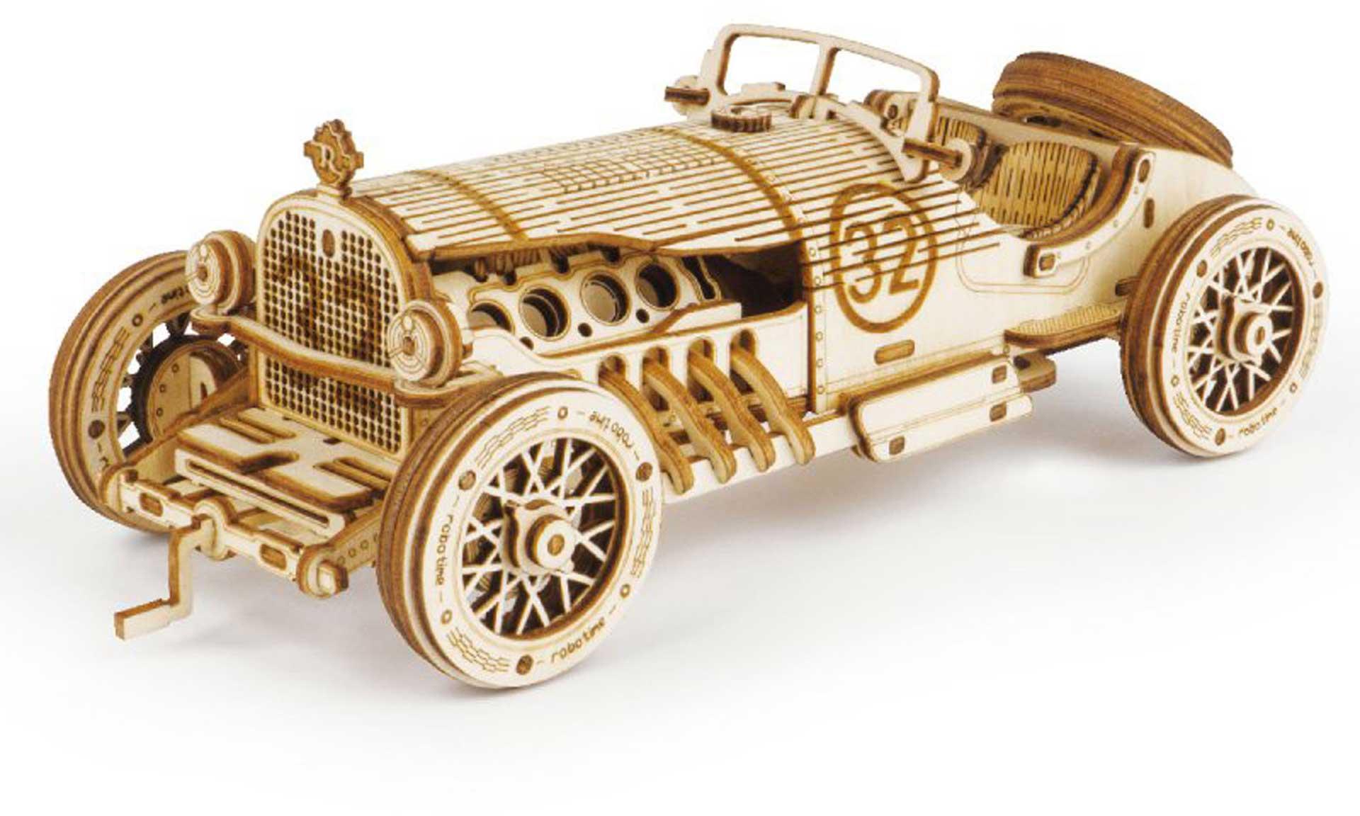 PICHLER Grand Prix Car (Lasercut wooden kit)