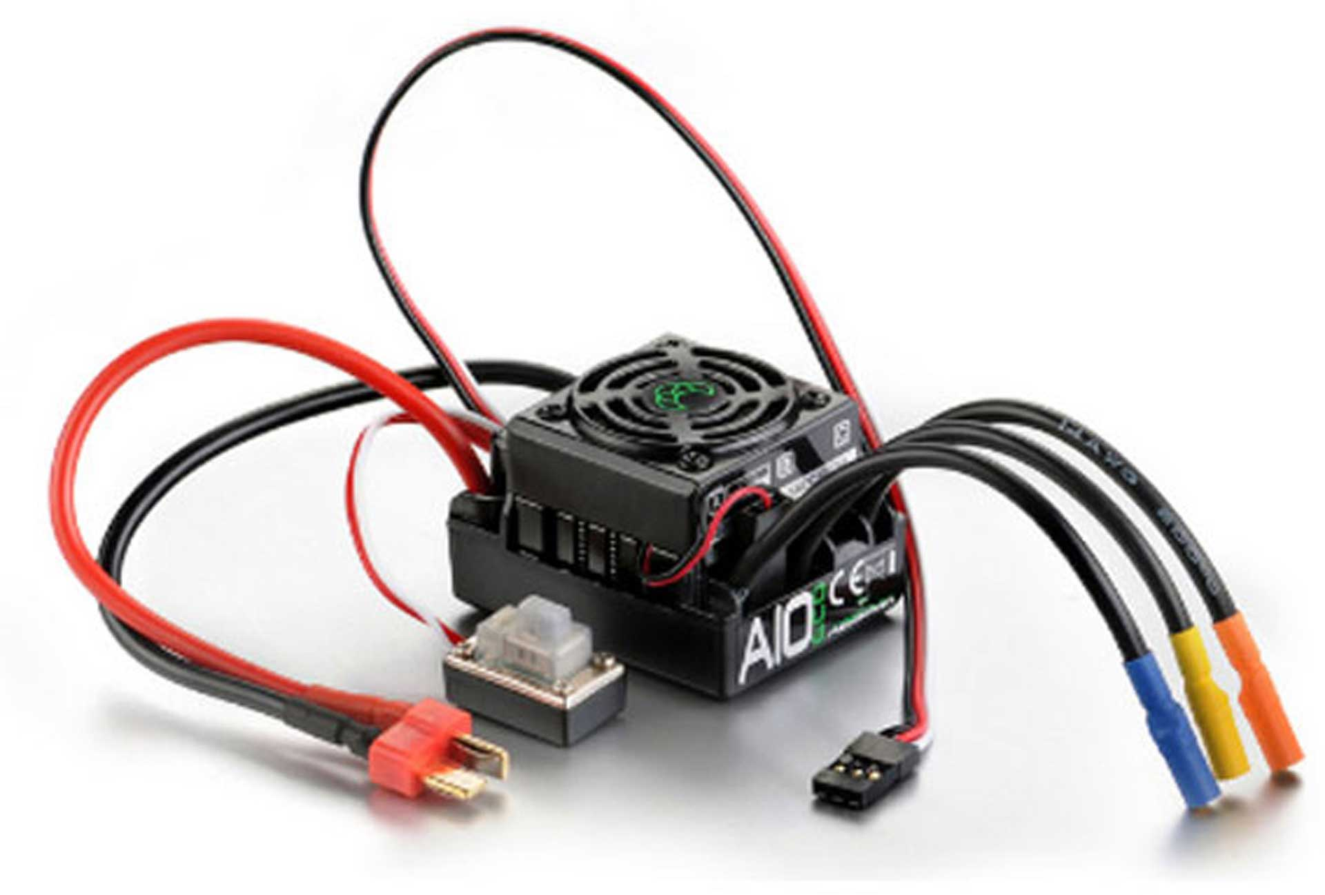 ABSIMA THRUST A10 ECO 50A BRUSHLESS ESC 1/10 WATERPROOF 2-3S
