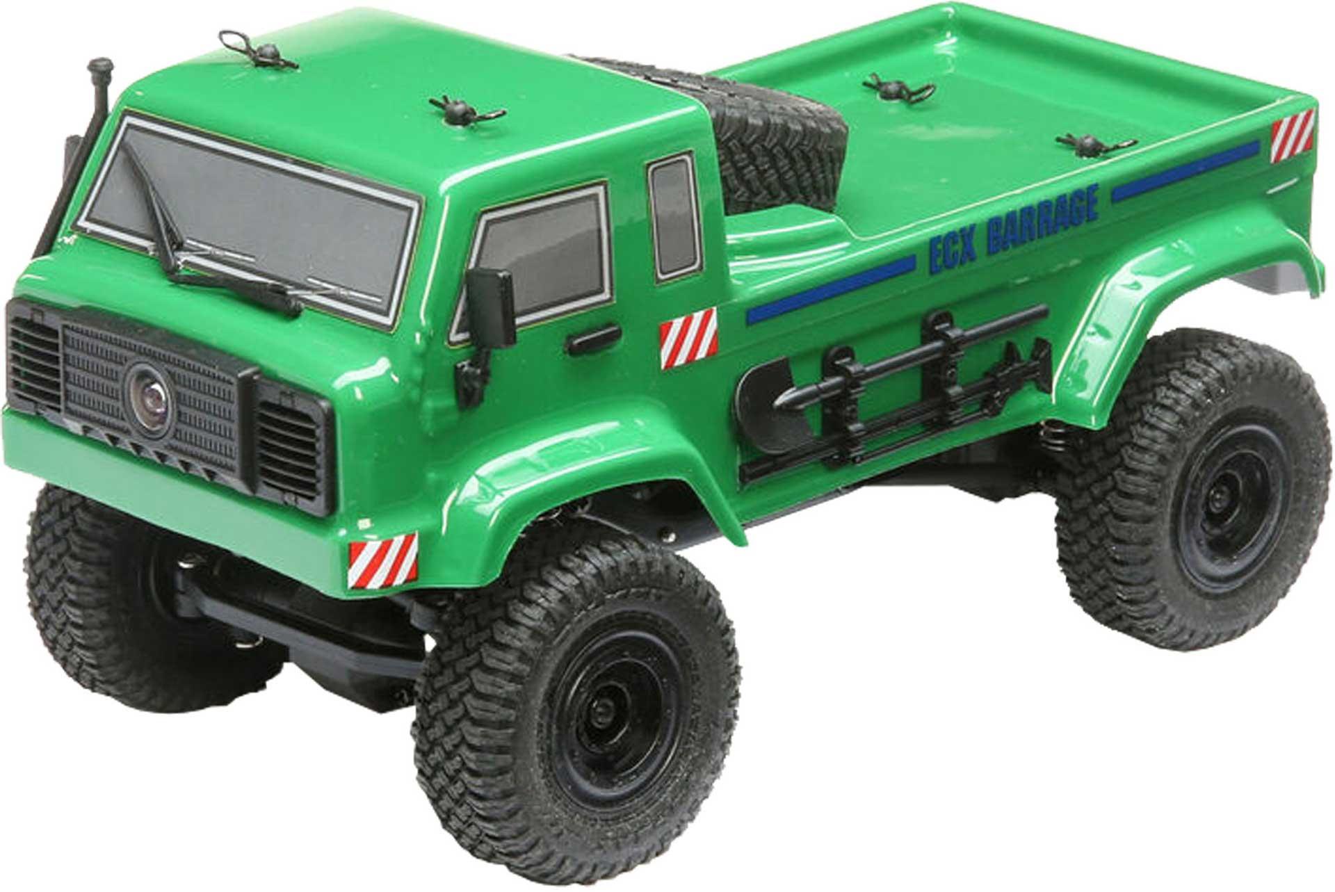 ECX BARRAGE UV 4WD SCALER CRAWLER RTR FPV 1/24 GRÜN