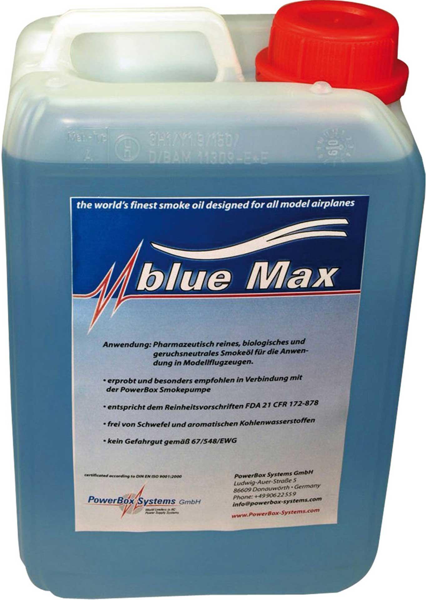 POWERBOX SYSTEMS SMOKE OIL BLUE MAX 5 LITER SMOKING OIL