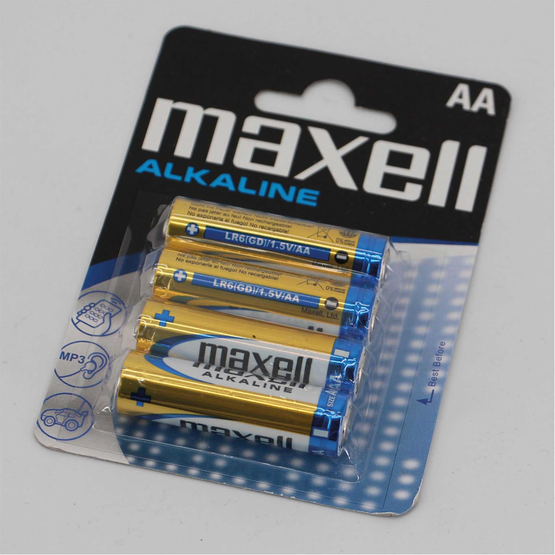 MAXELL MIGNON BATTERIE AA / LR6 1,5V 4STK.