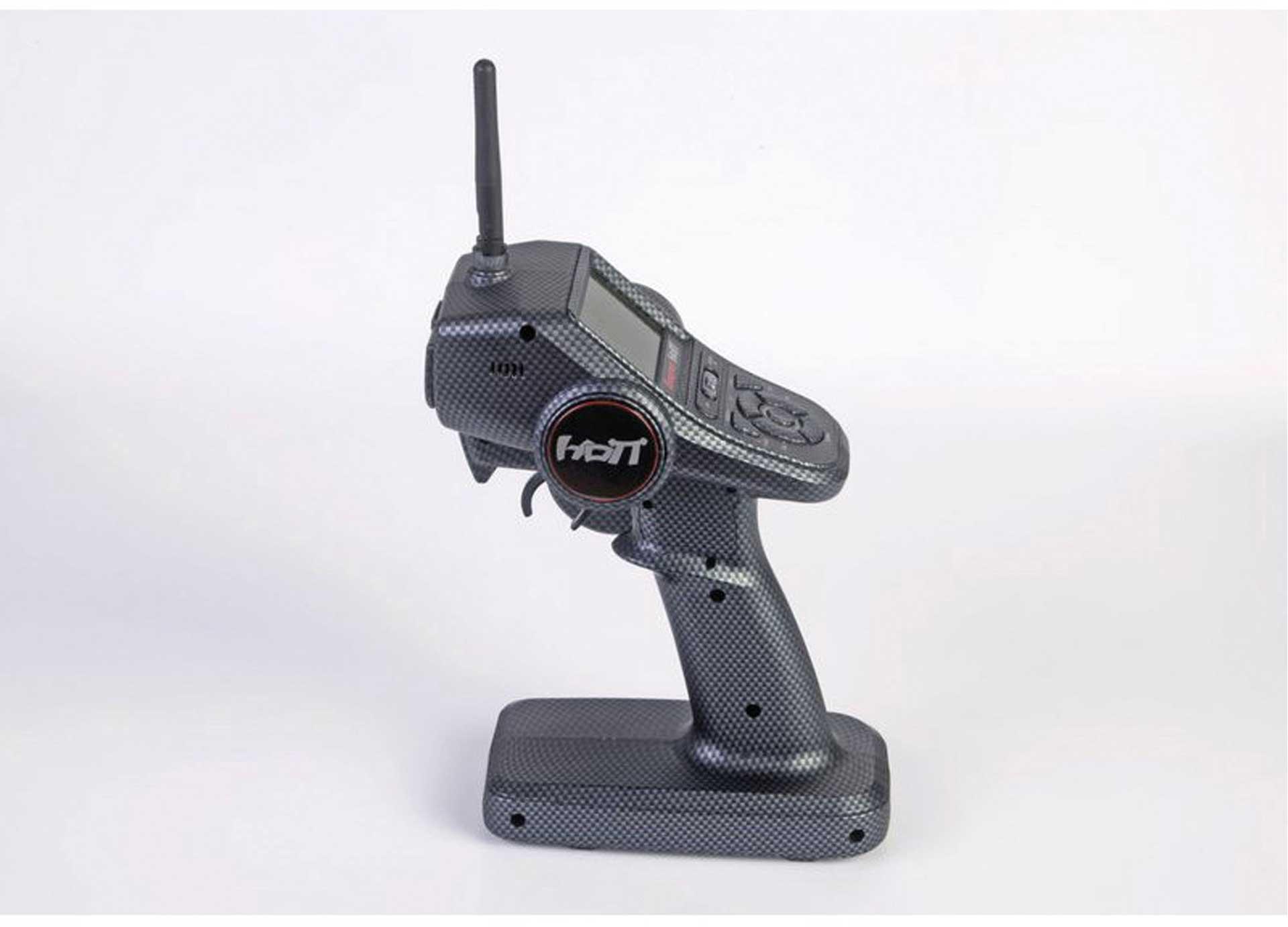 GRAUPNER X-8N Carbon Car Sender ink. GR-8 HOTT Empfänger