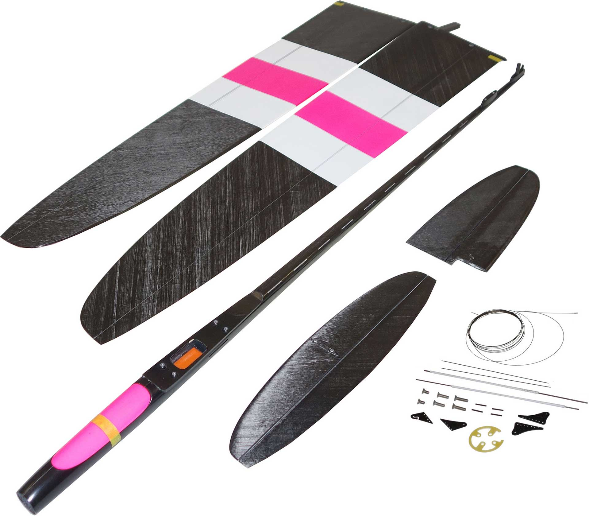 OA-Composites NRJ F5K Electric Farbe # A (White/Pink)