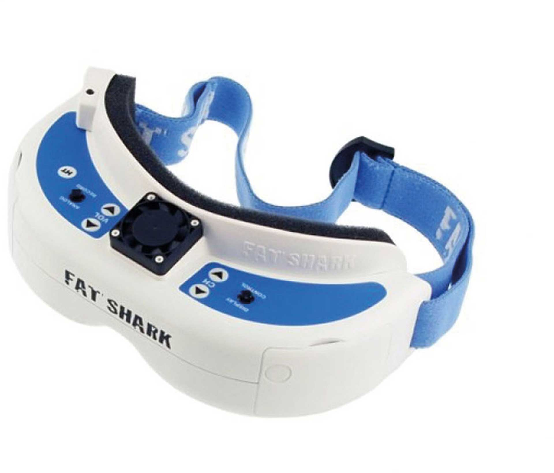 FAT SHARK DOMINATOR V3 FPV VIDEOBRILLE INCL. AKKU
