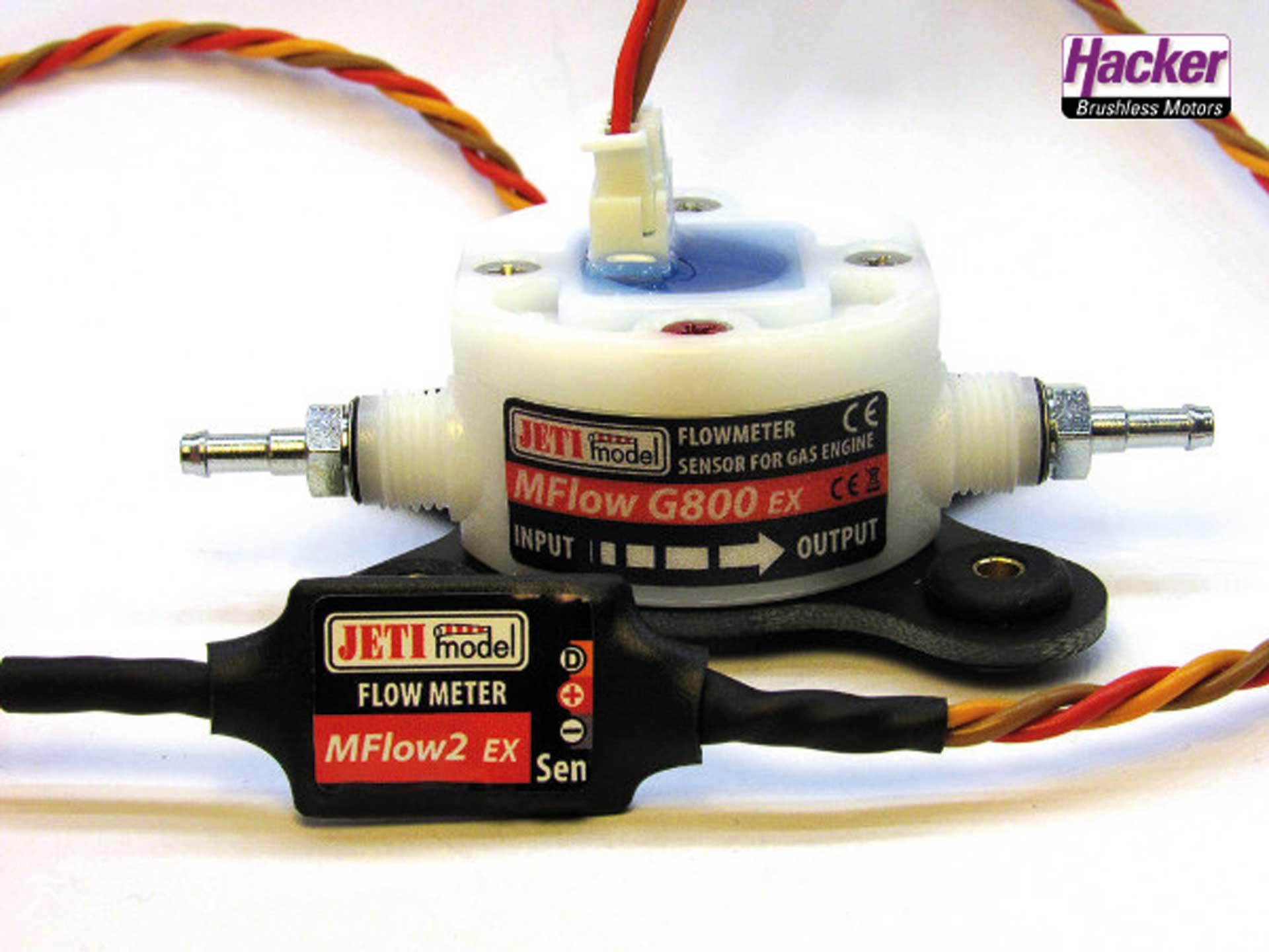 JETI DUPLEX 2.4EX MFlow2 Gas 800