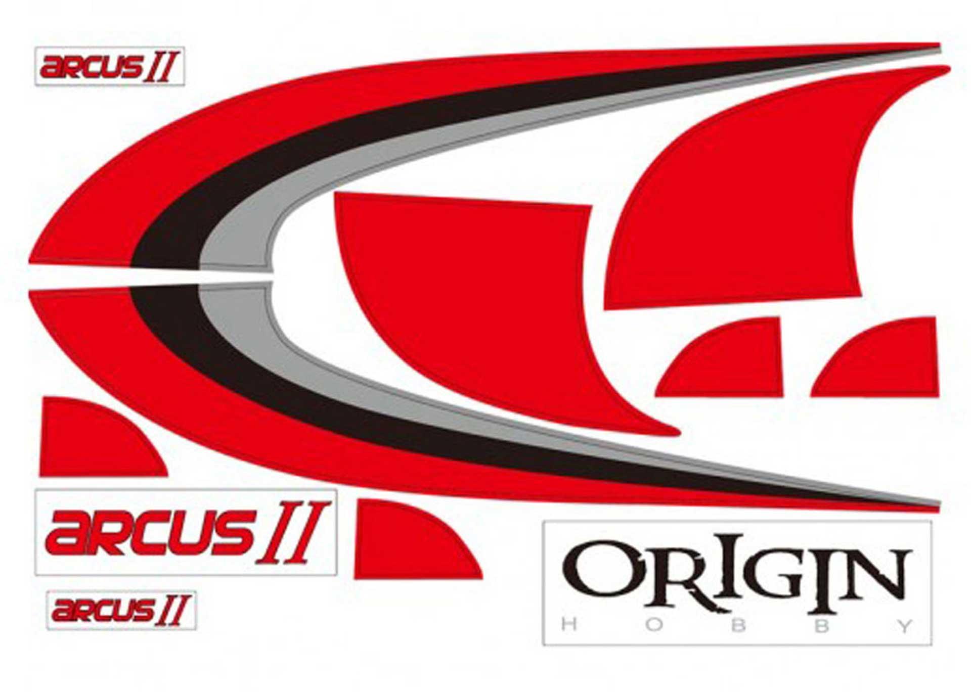 Robbe Modellsport Dekorbogen Arcus II