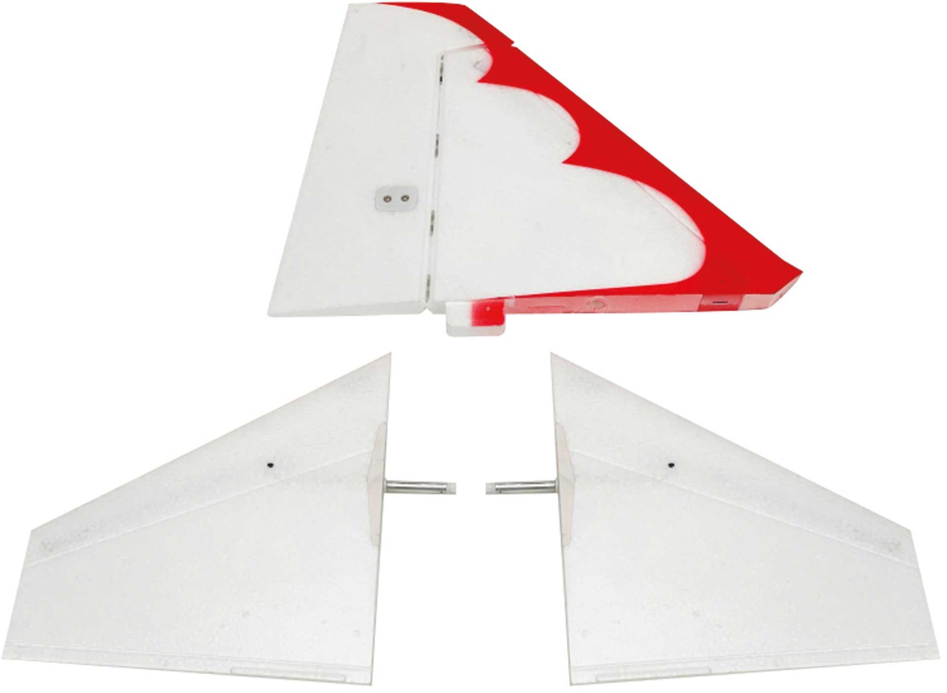 Premier Aircraft Flexjet L/R Leitwerkssatz Rot