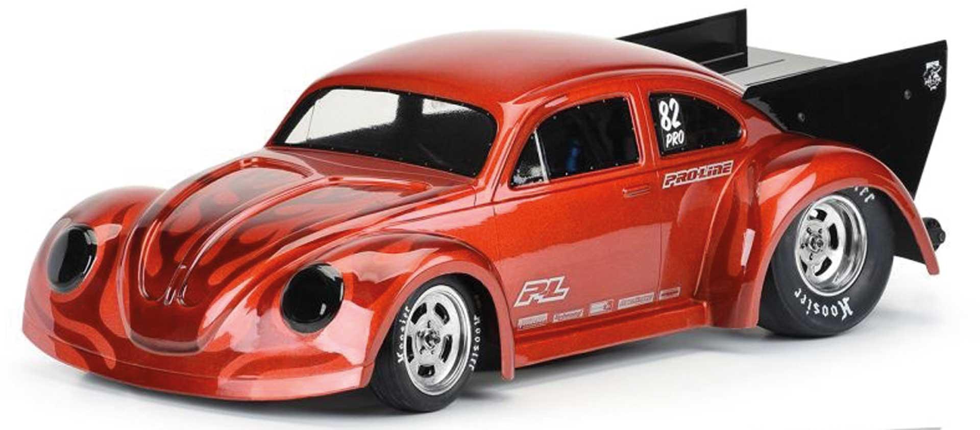 PROLINE Volkswagen Drag Karosserie klar 1/10 für Slash 2WD Drag Car / Losi 22S Drag / AE DR10