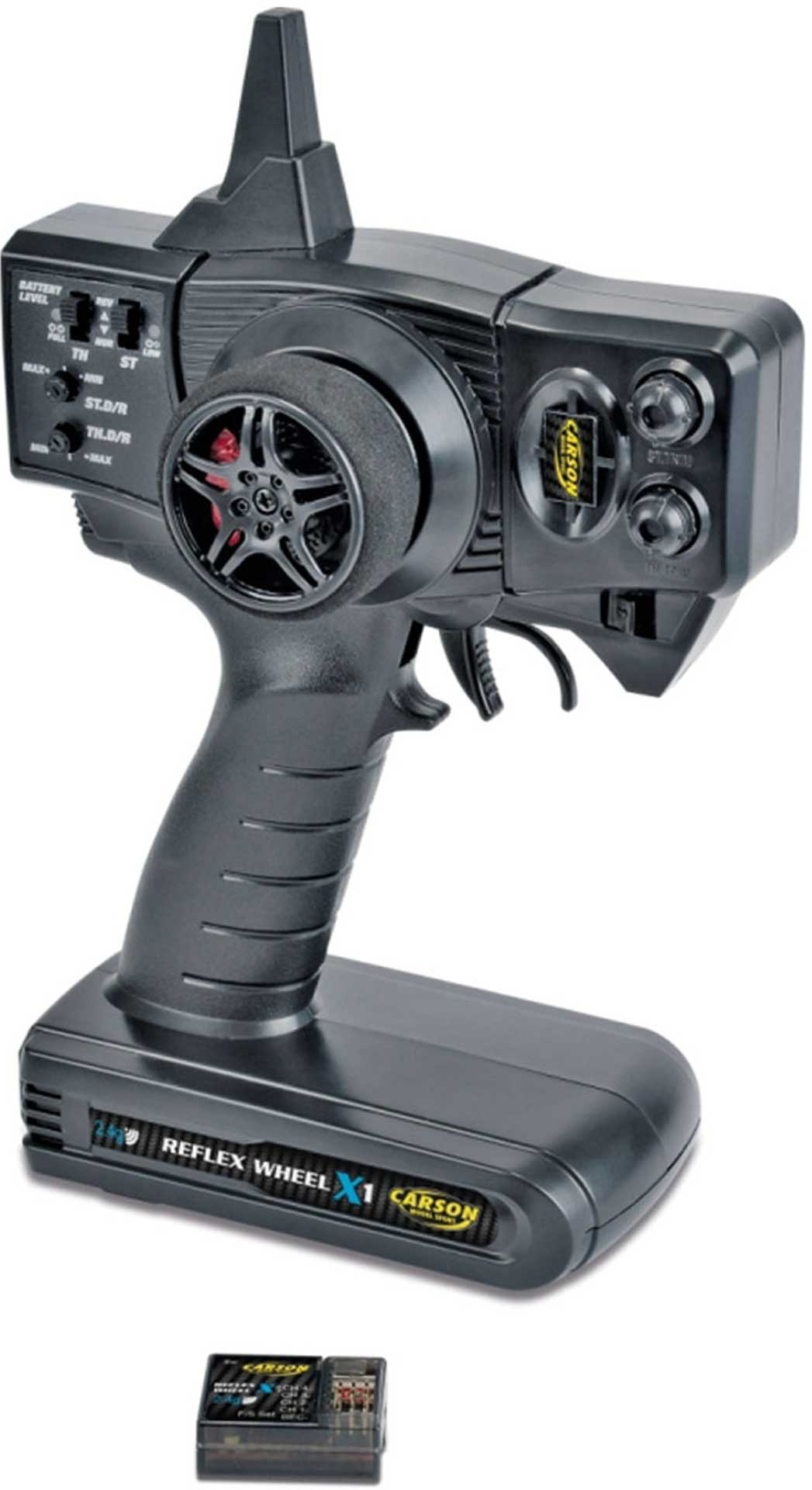 CARSON Reflex x1 2-channel 2,4GHZ remotecontrol