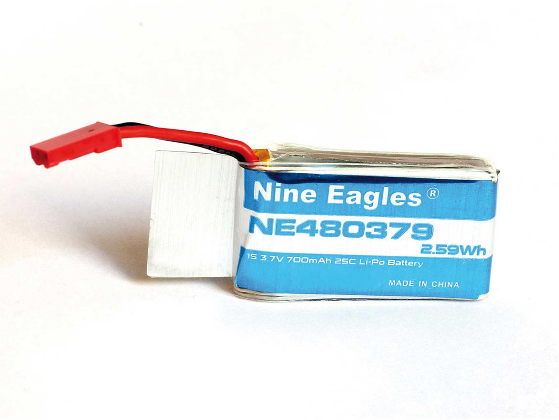 NINE EAGLES LIPO AKKU 3,7V 700MAH 35C GALAXY VISITOR GV6