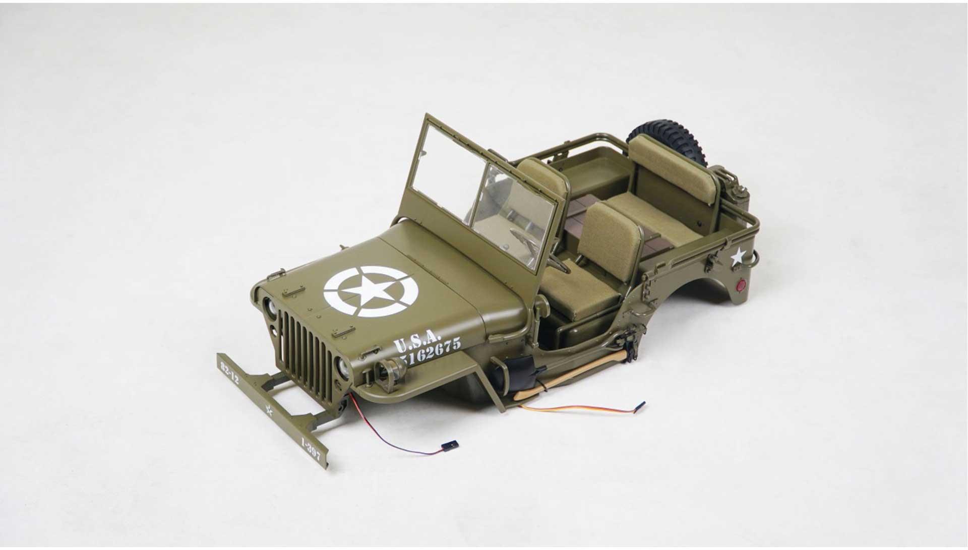 ROC HOBBY 1/6 KAROSSERIE KOMPLETT MB 1941 montiert