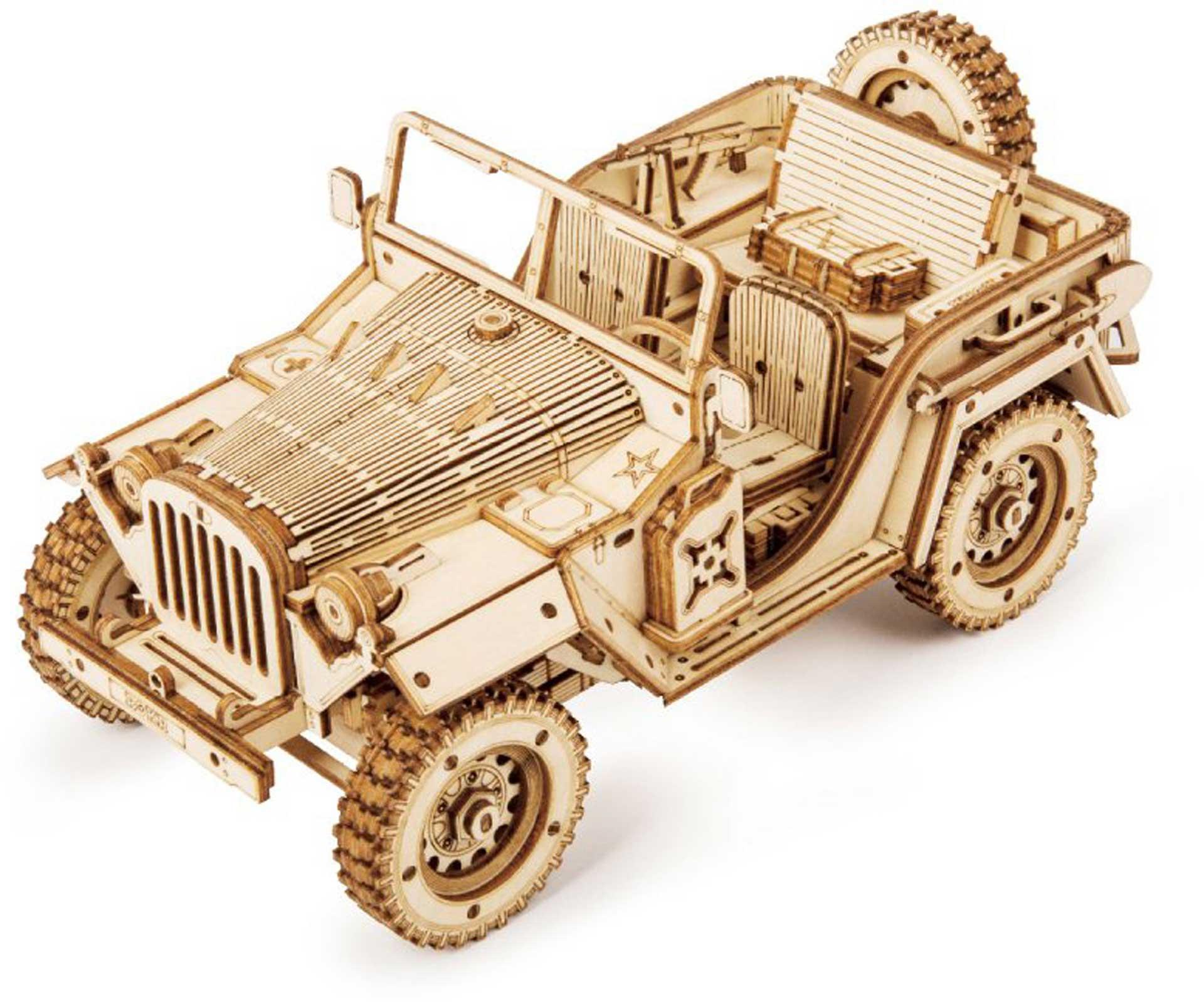 PICHLER Army Jeep (Lasercut wooden kit)