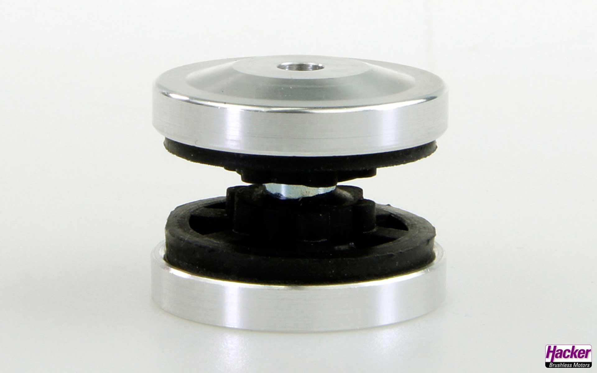 HACKER Gedämpfte Halterungen für Elektro- und Verbrennermotoren