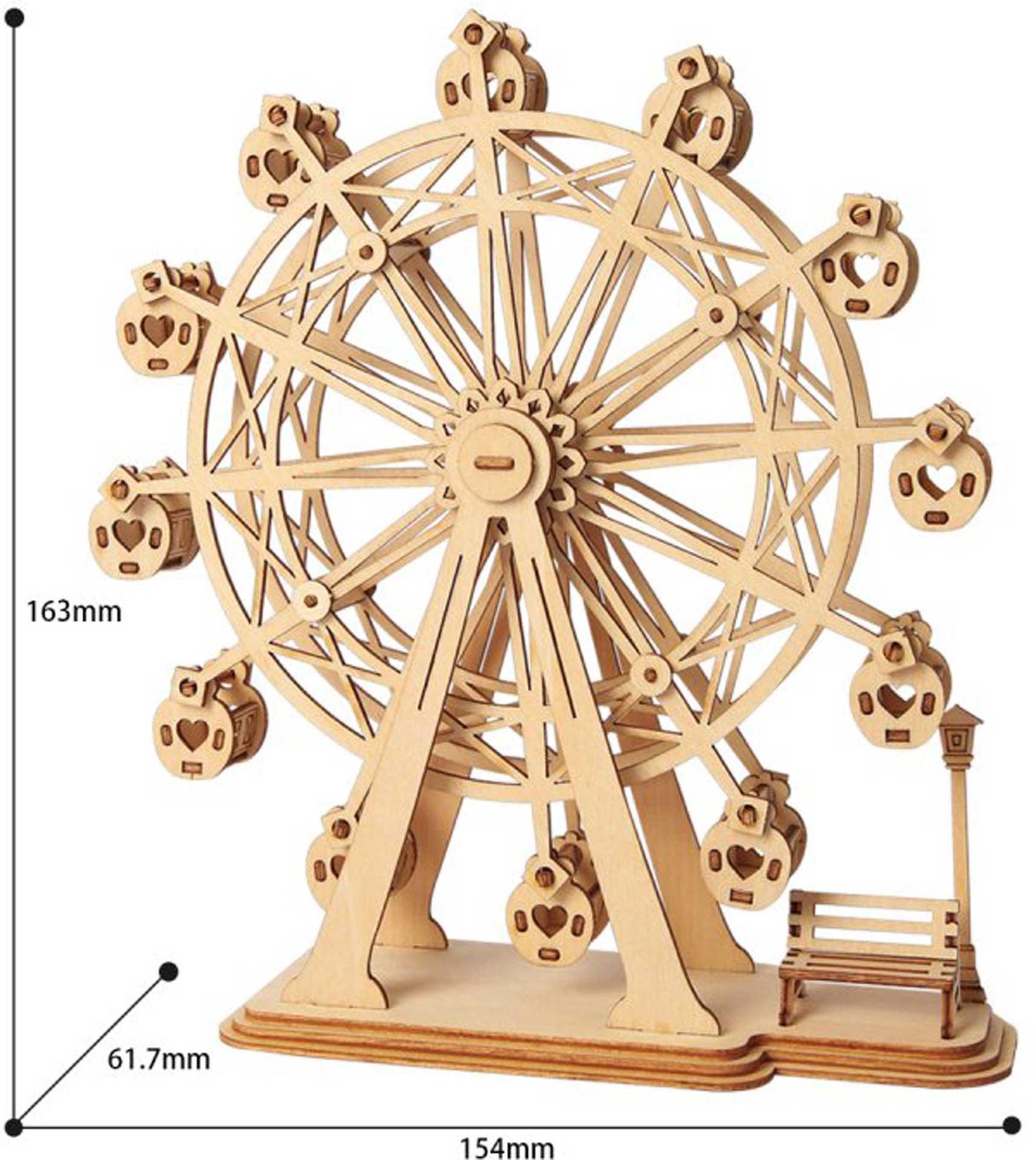 PICHLER Riesenrad (Lasercut Holzbausatz)