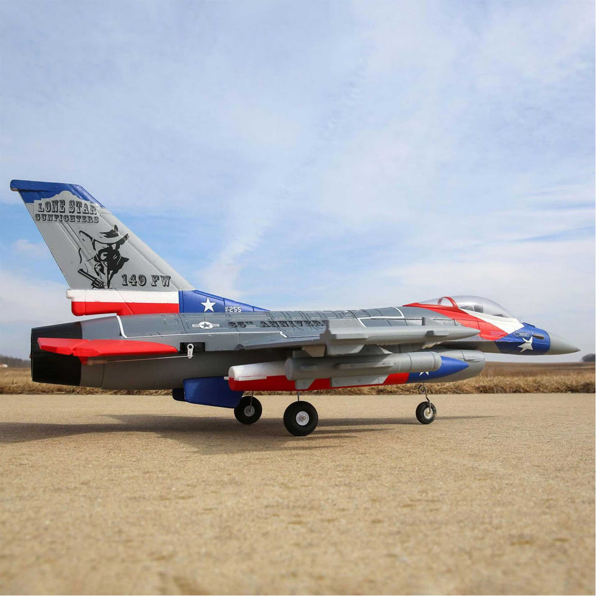 E-Flite F-16 FALCON 64MM EDF BNF BASIC JET WITH AS3X AND SAFE SELECT TECHNOLOGY