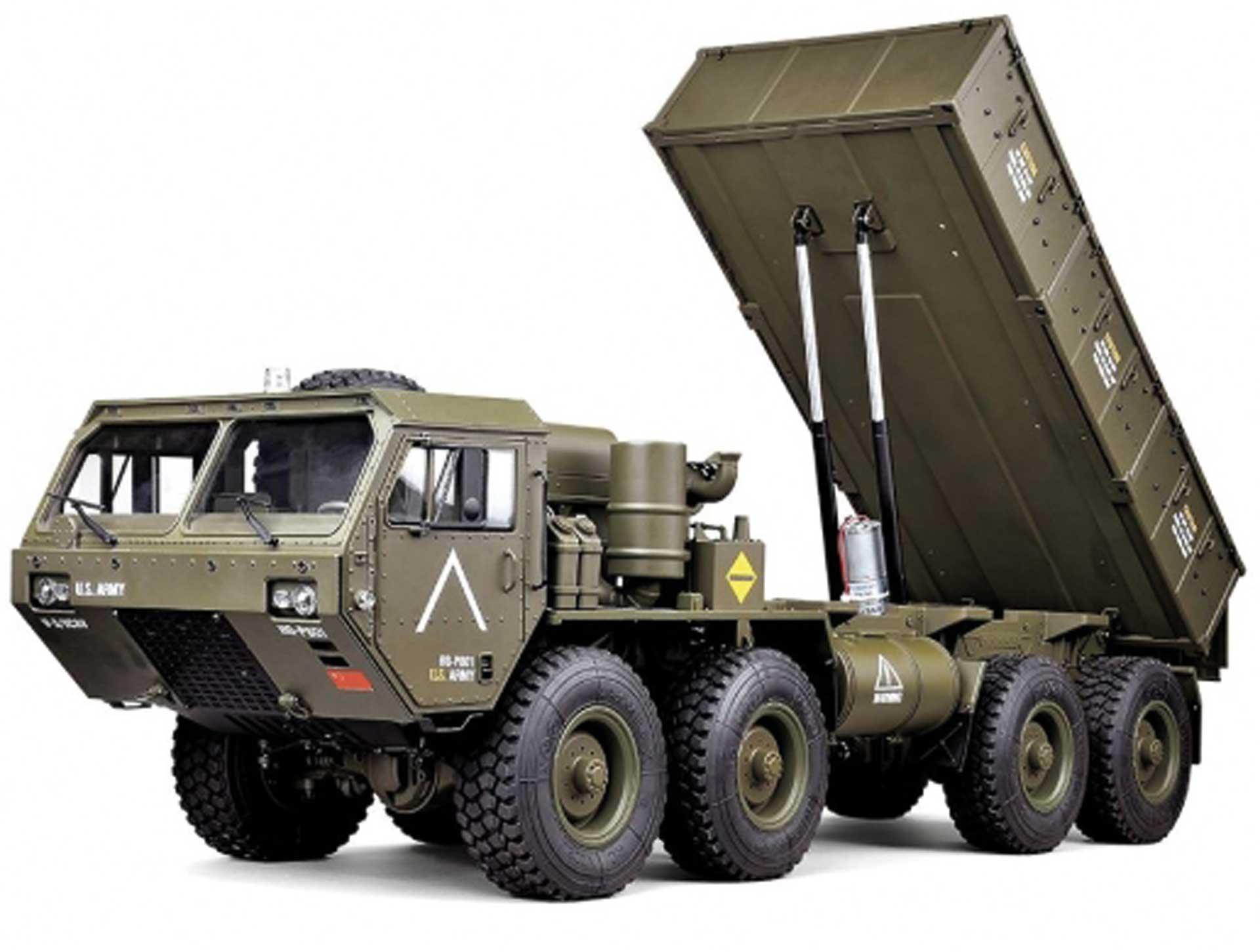 FM-ELECTRICS XL Military Truck 1/10 mit Kippfunktion 8X8 Allrad